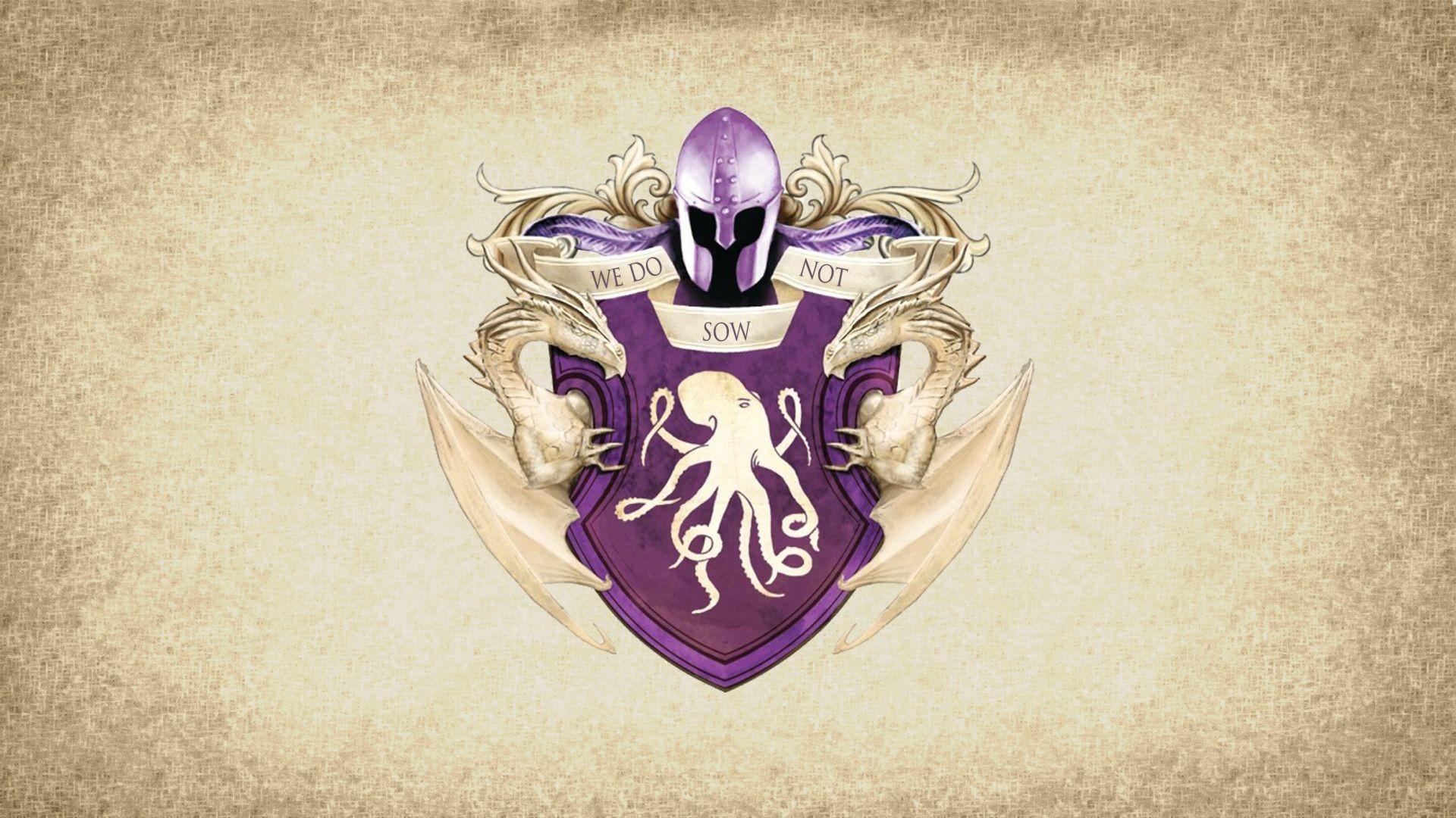 General crest House Greyjoy sigils Game of Thrones