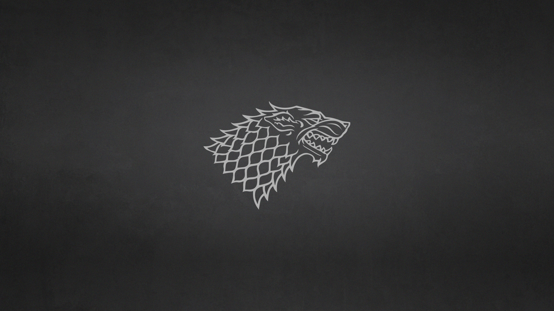 … Game of Thrones: House Stark Minimalist Wallpaper by elbarnzo