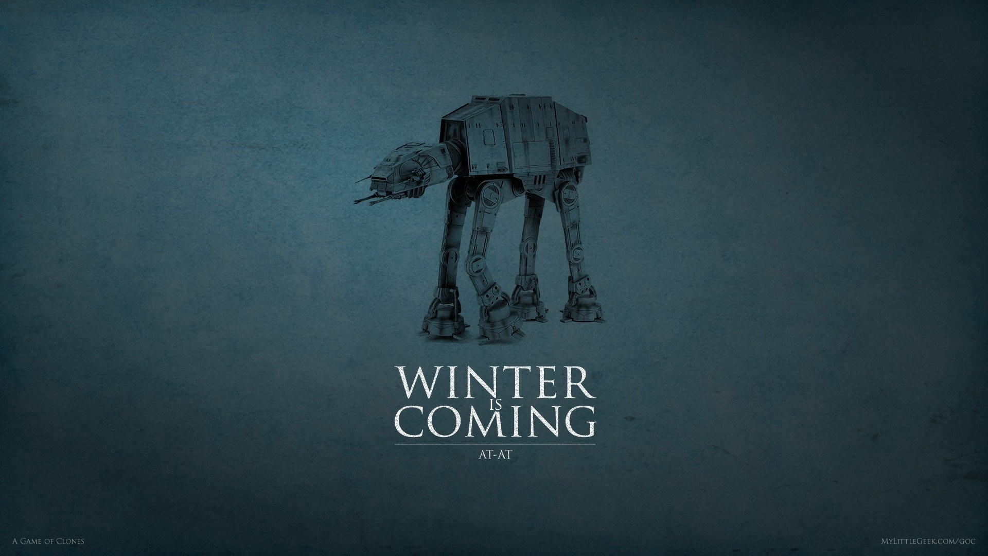 Game Of Thrones House Stark Star Wars AT-AT House Stark Wallpaper …