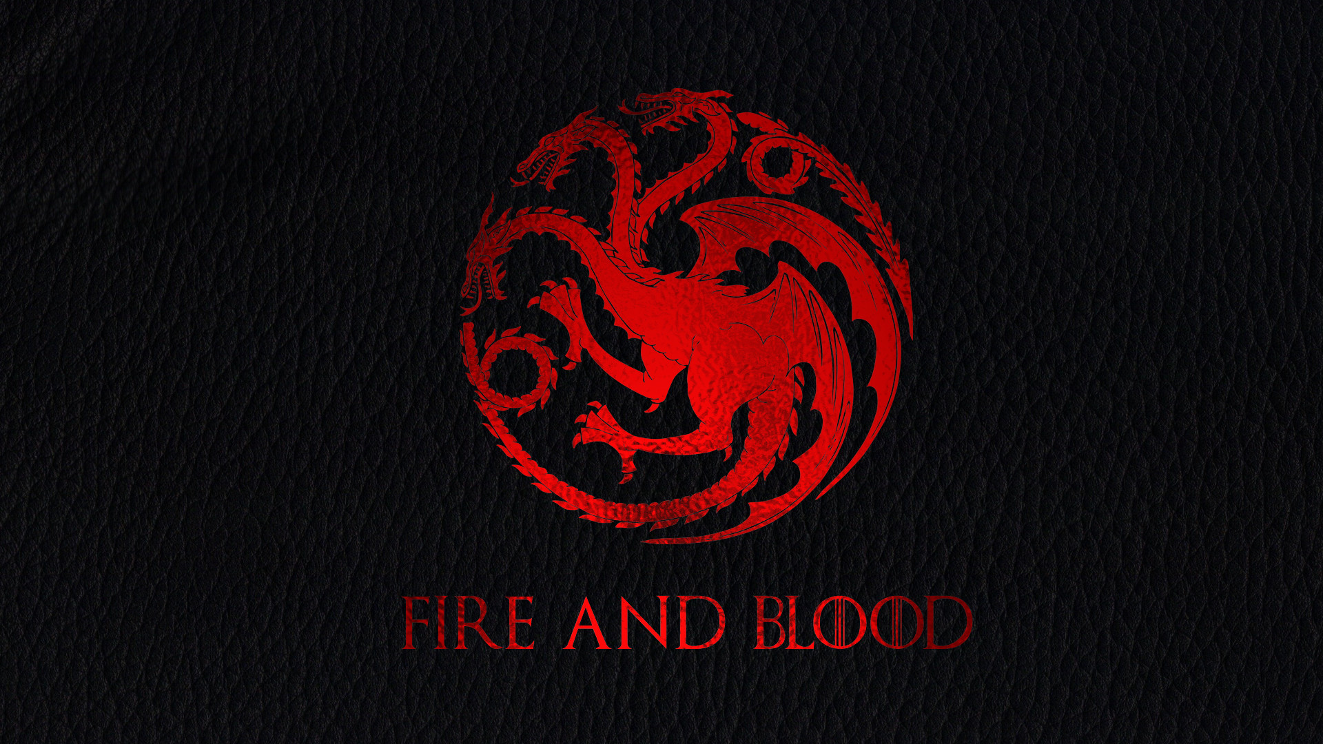 No Spoilers[NO SPOILERS] I made a leather/red gold leaf Targaryen wallpaper.  Thought you guys might like it.