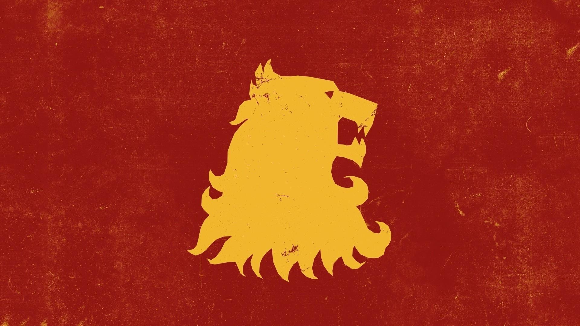 General lion animals Game of Thrones House Targaryen sigils