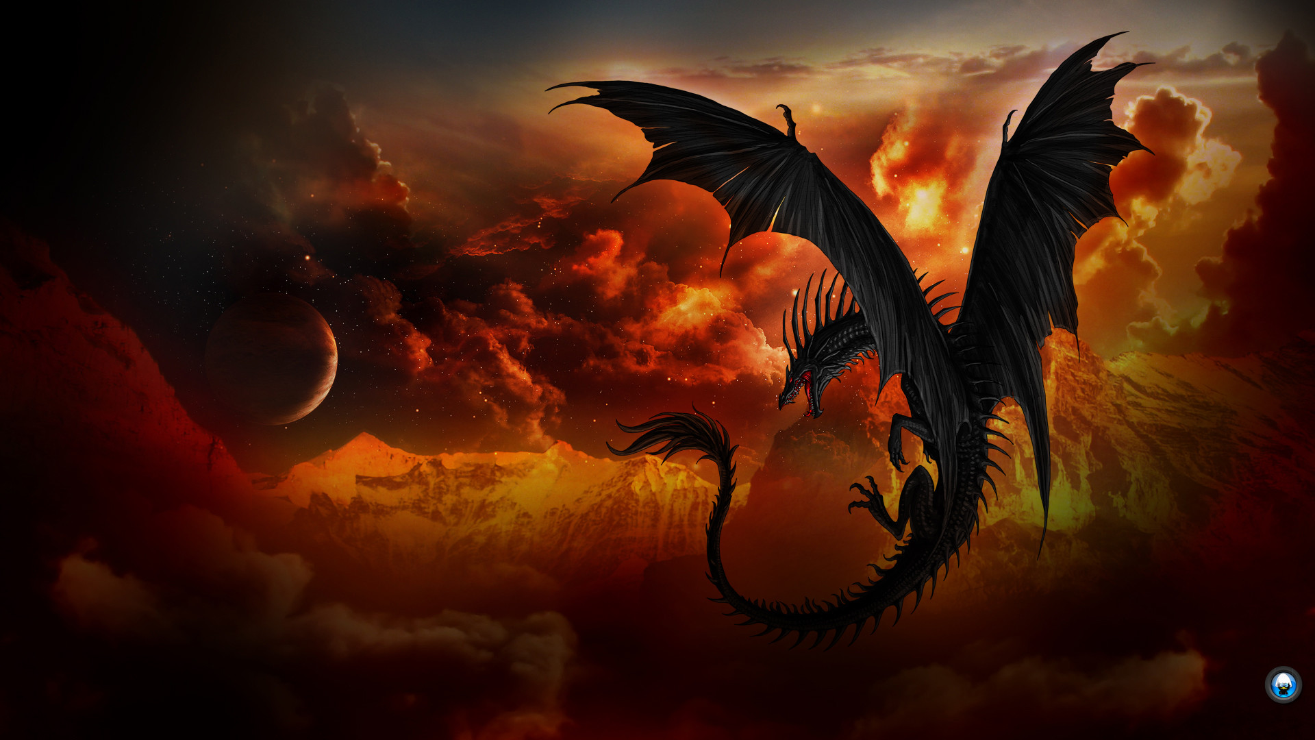 Dragon Wide Wallpaper