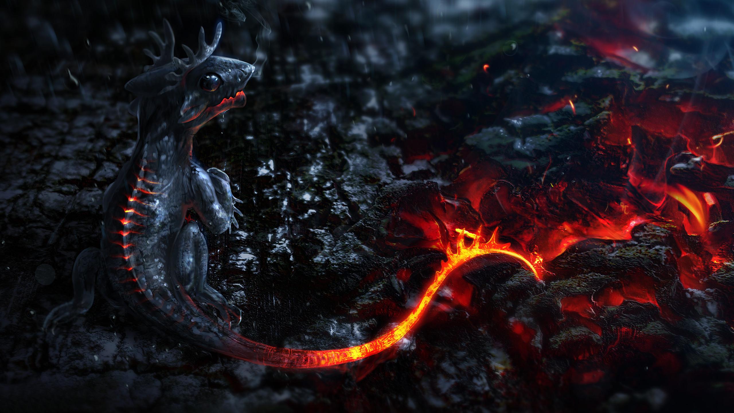 Baby dragon Wallpaper #