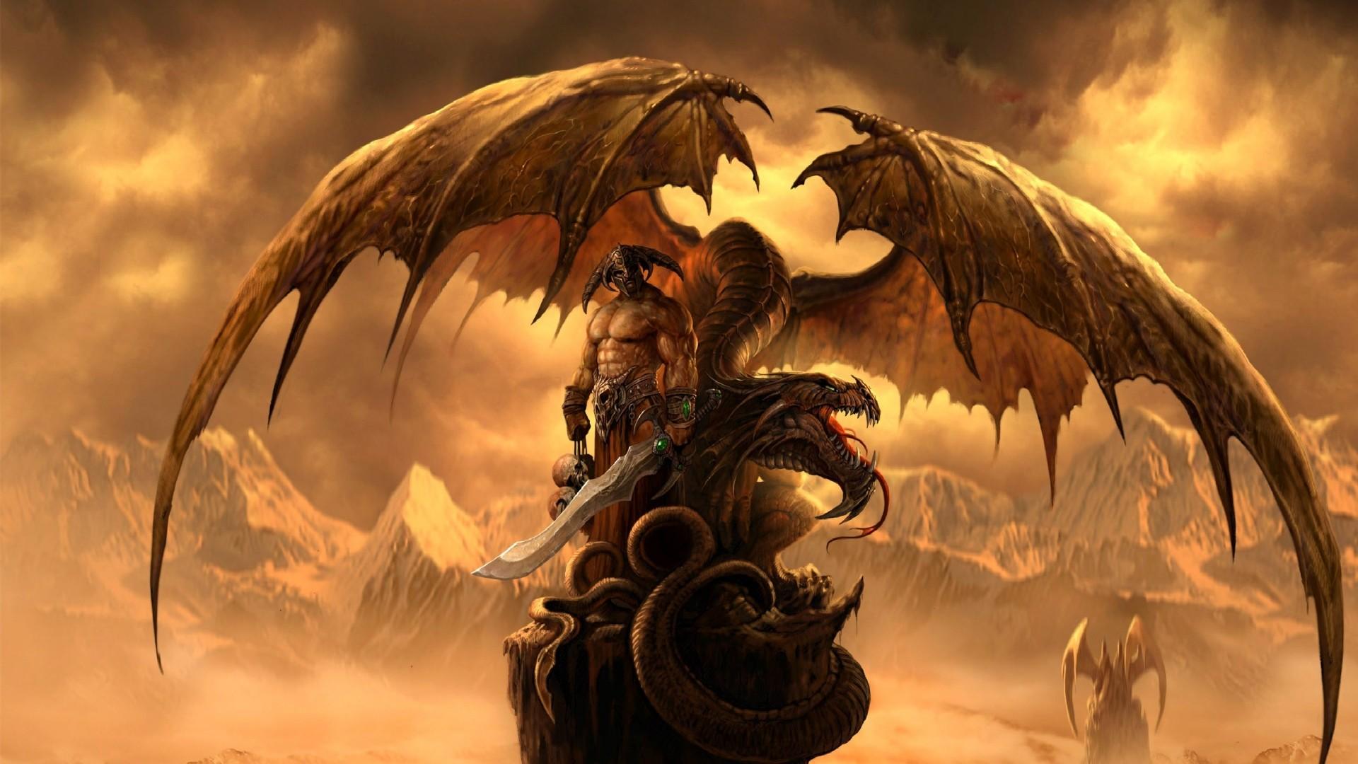 Preview wallpaper dragons eternity, dragon, art, fantasy 1920×1080