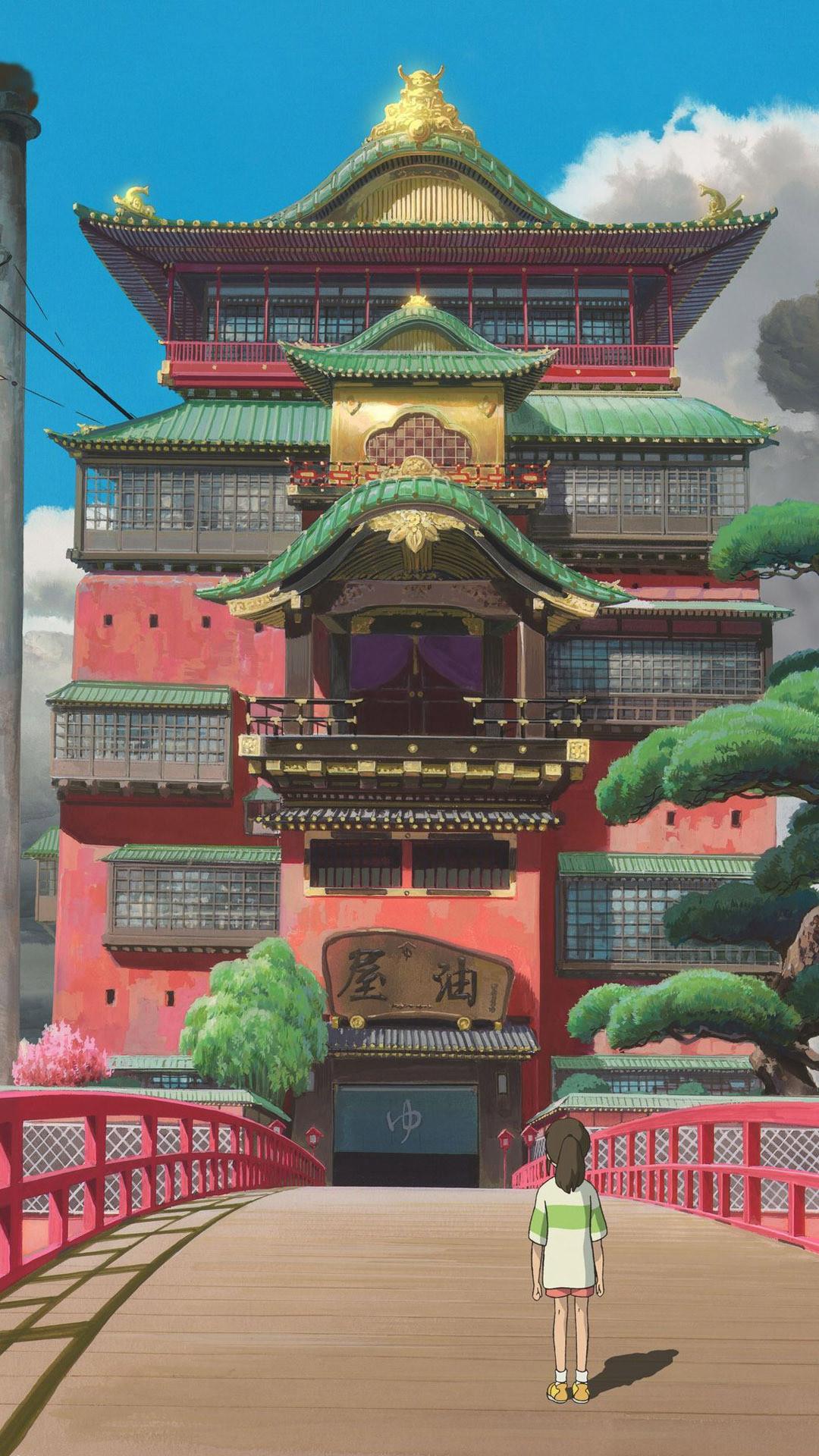 … Spirited Away Anime mobile wallpaper