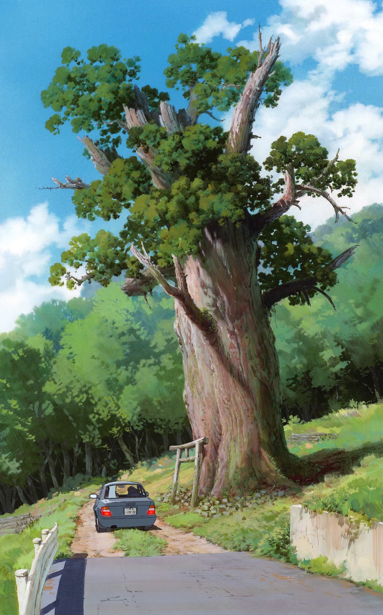 Spirited Away,Studio Ghibli,Scenery