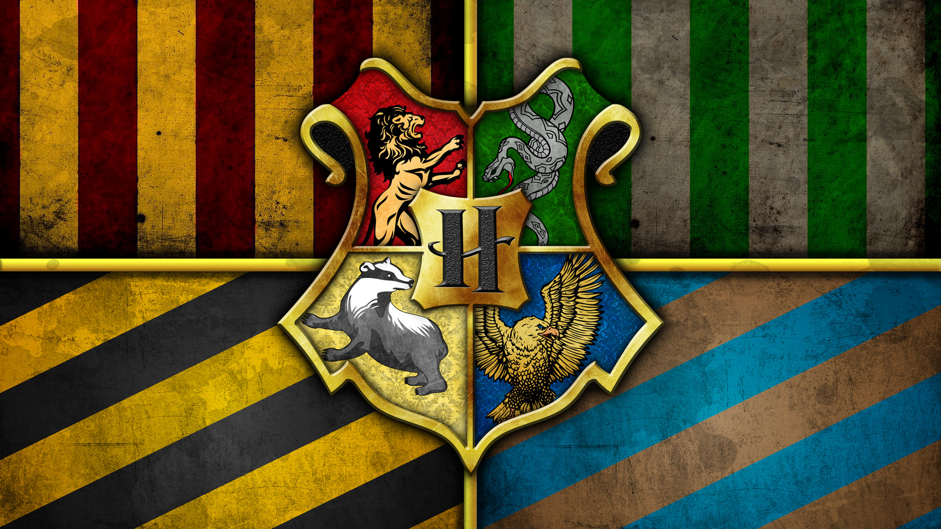 The Houses of Hogwarts [1920×1080] …