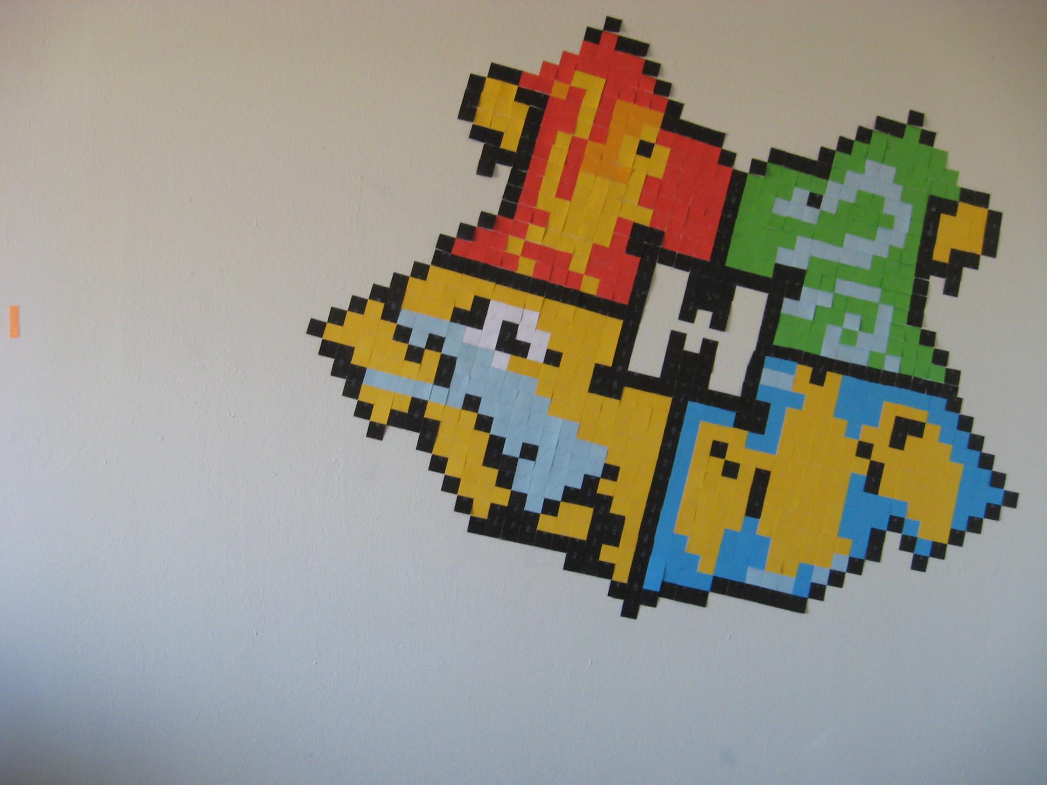 Pixel Hogwarts Crest