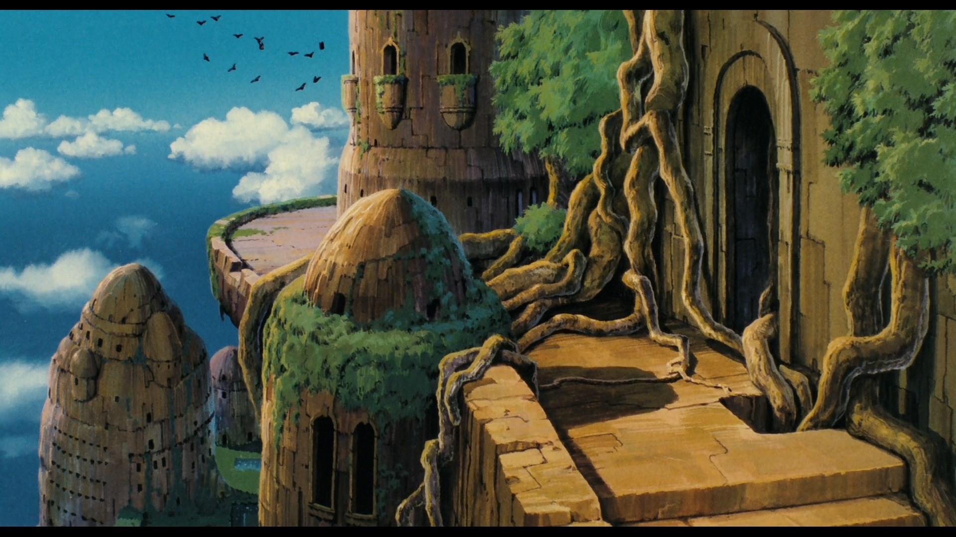 laputa castle in the sky wallpaper for mac computers by Sherlock Allford  (2017-03-06)