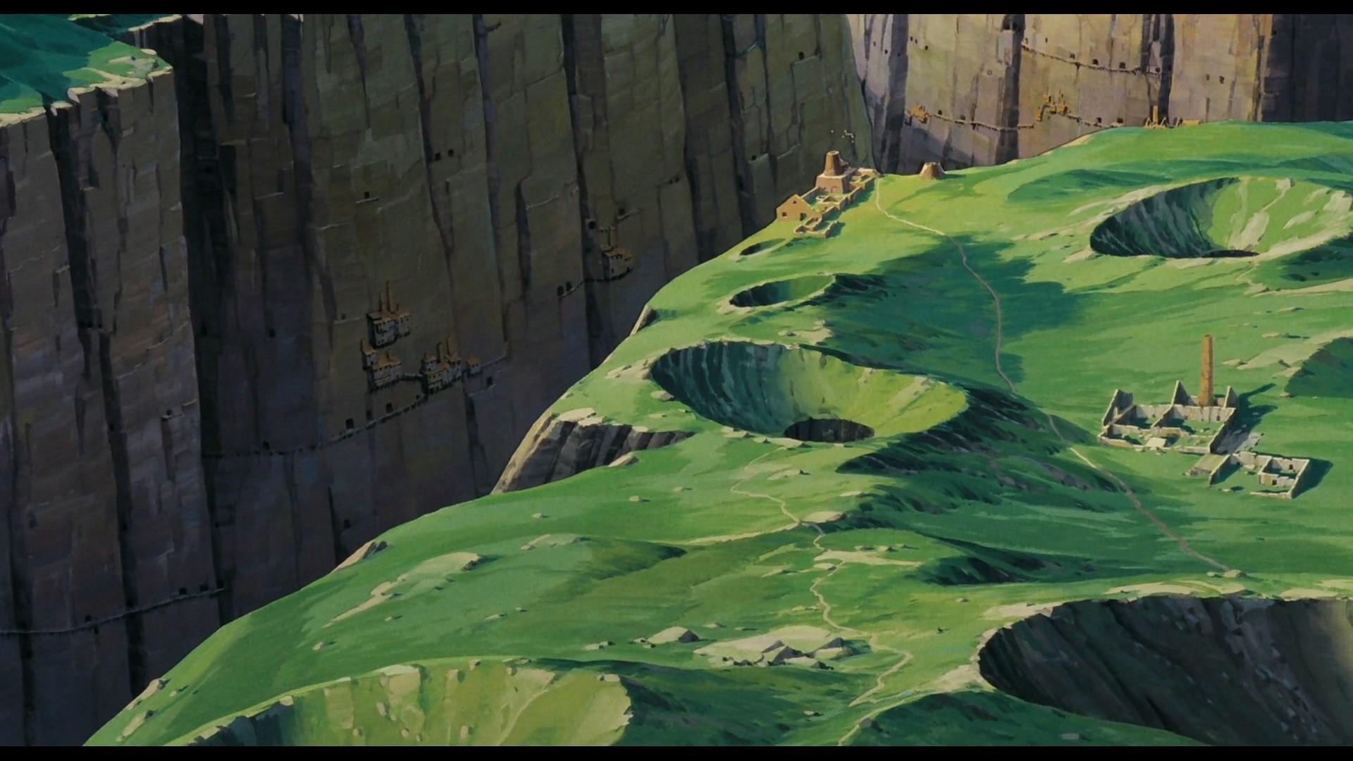 laputa castle in the sky backround for mac (Kenton MacDonald 1920×1080)
