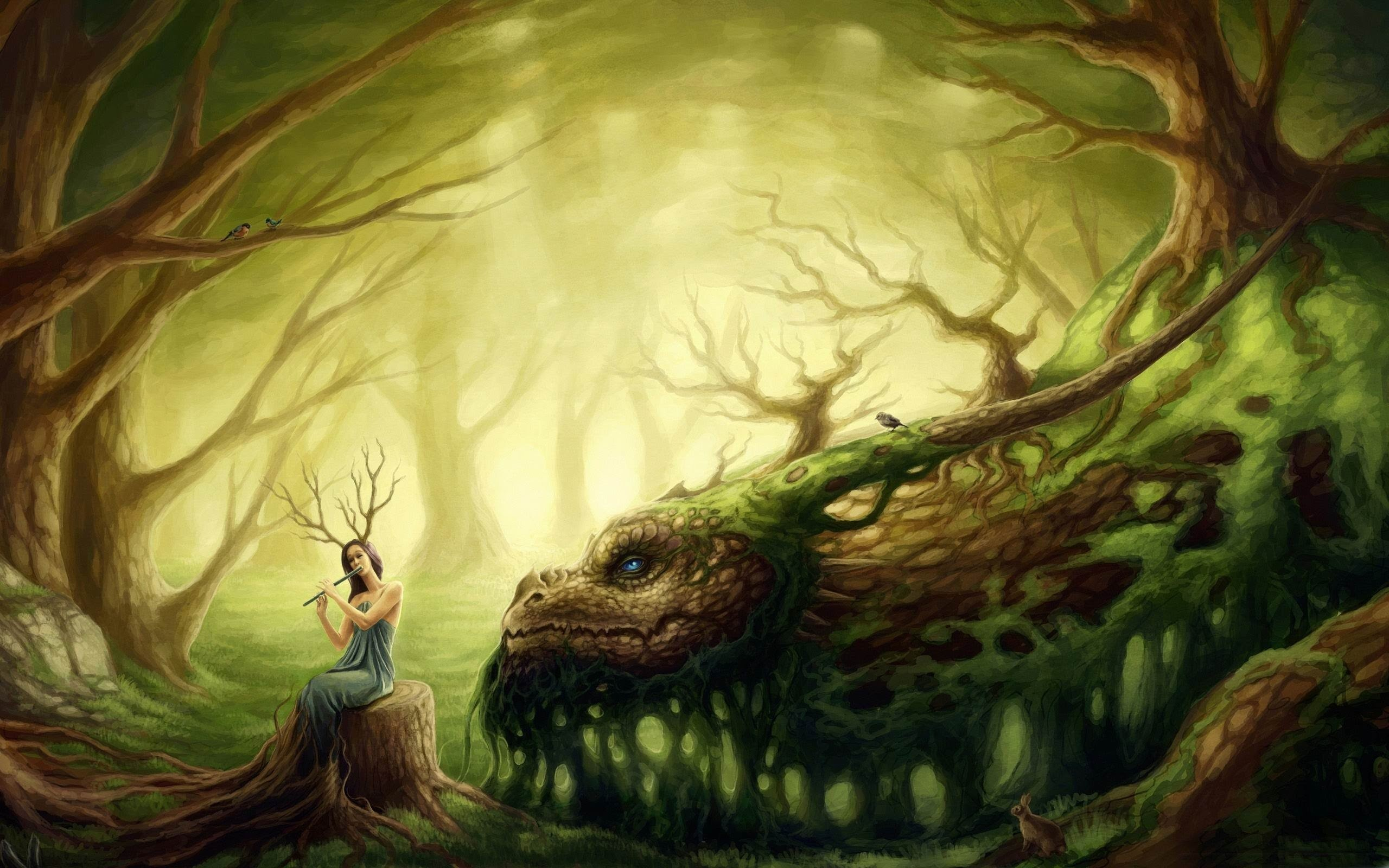 Celtic Fantasy Music – The Dragon Charmer ( Beautiful Violin )