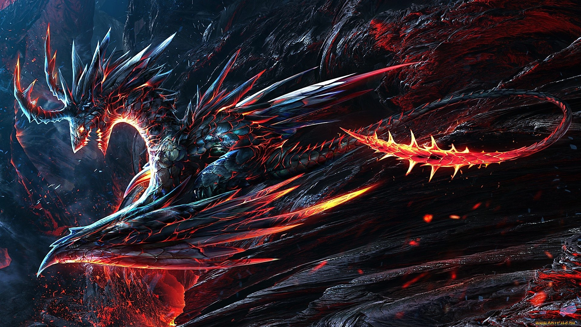 Lava Dragon Wallpapers   Lava Dragon Wallpapers   Pinterest   Lava and  Dragons