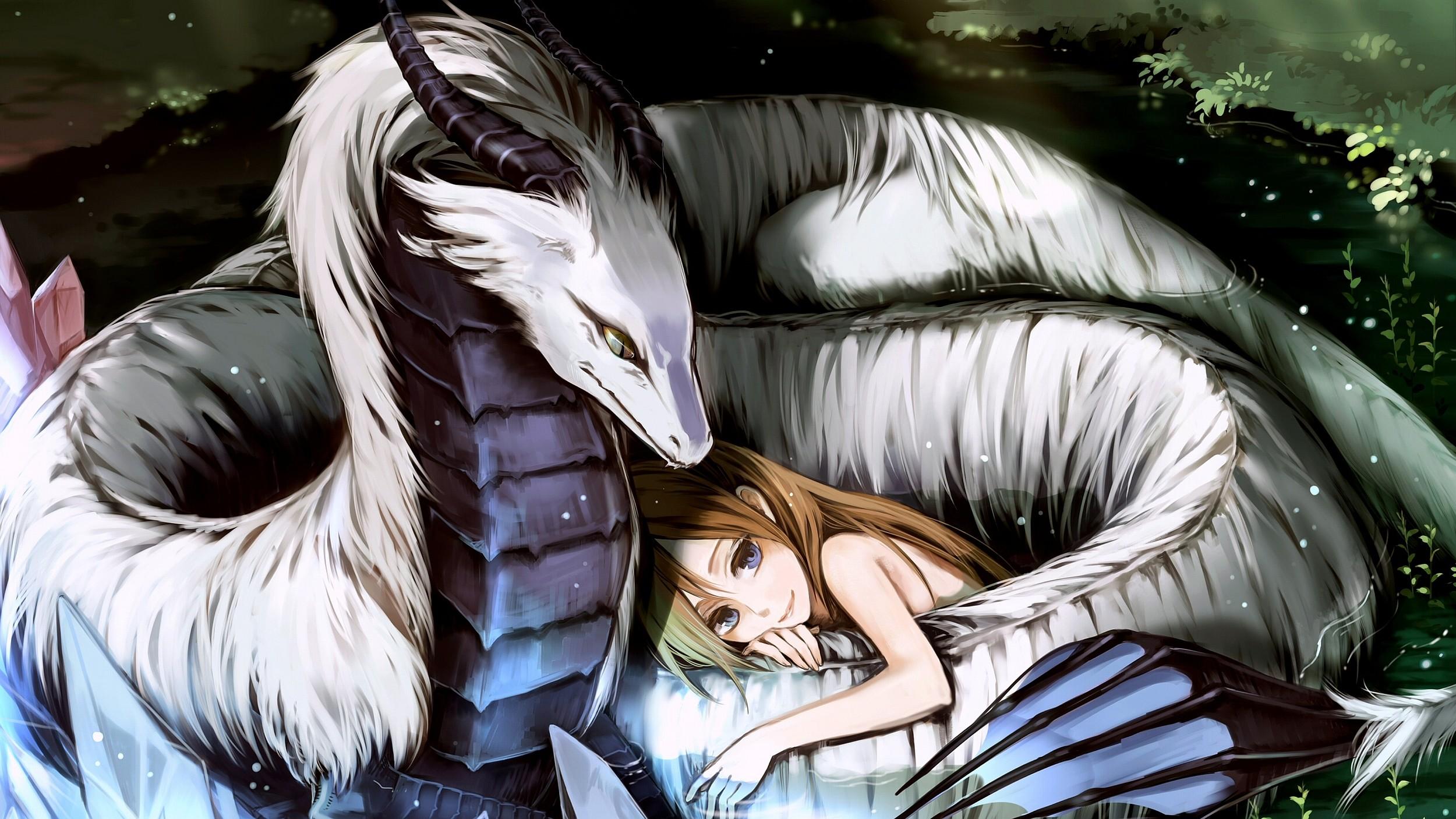Fantasy – Dragon Anime Wallpaper
