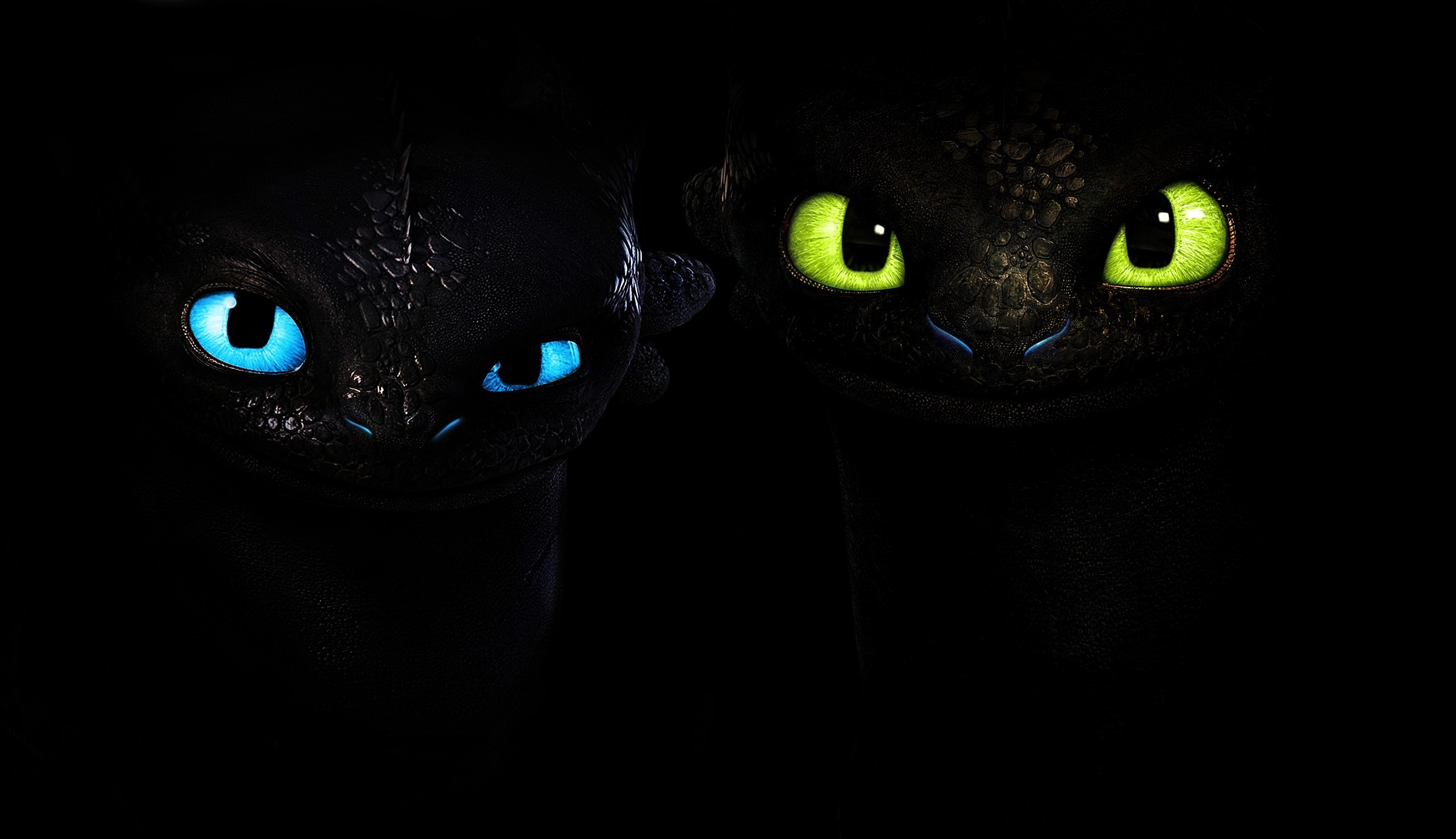 Wallpapers How to Train Your Dragon Glance Black background