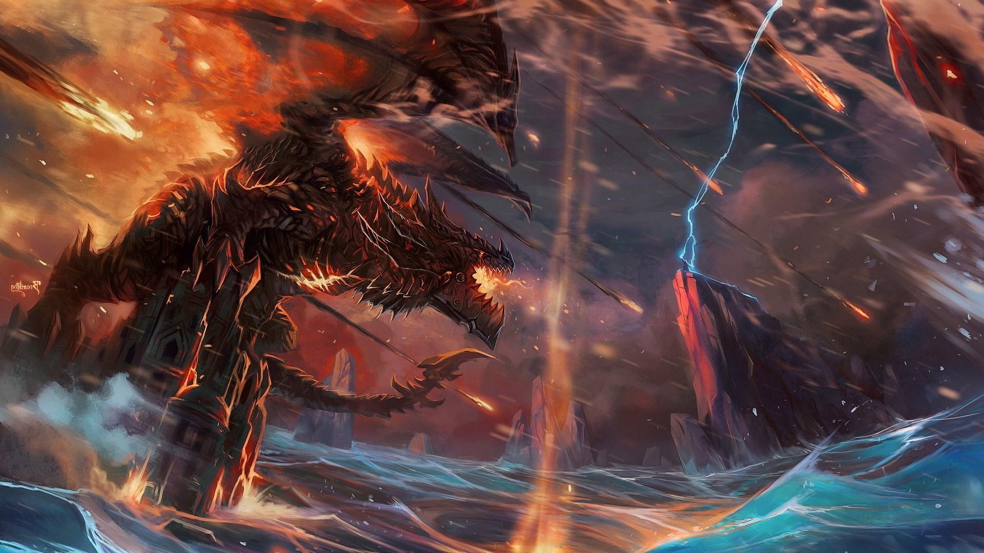 dragon beautiful wallpaper desktop