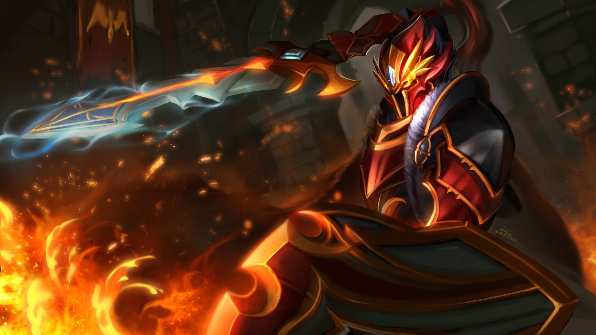 Beautiful Dragon Knight Wallpapers   D-Screens Backgrounds Collection