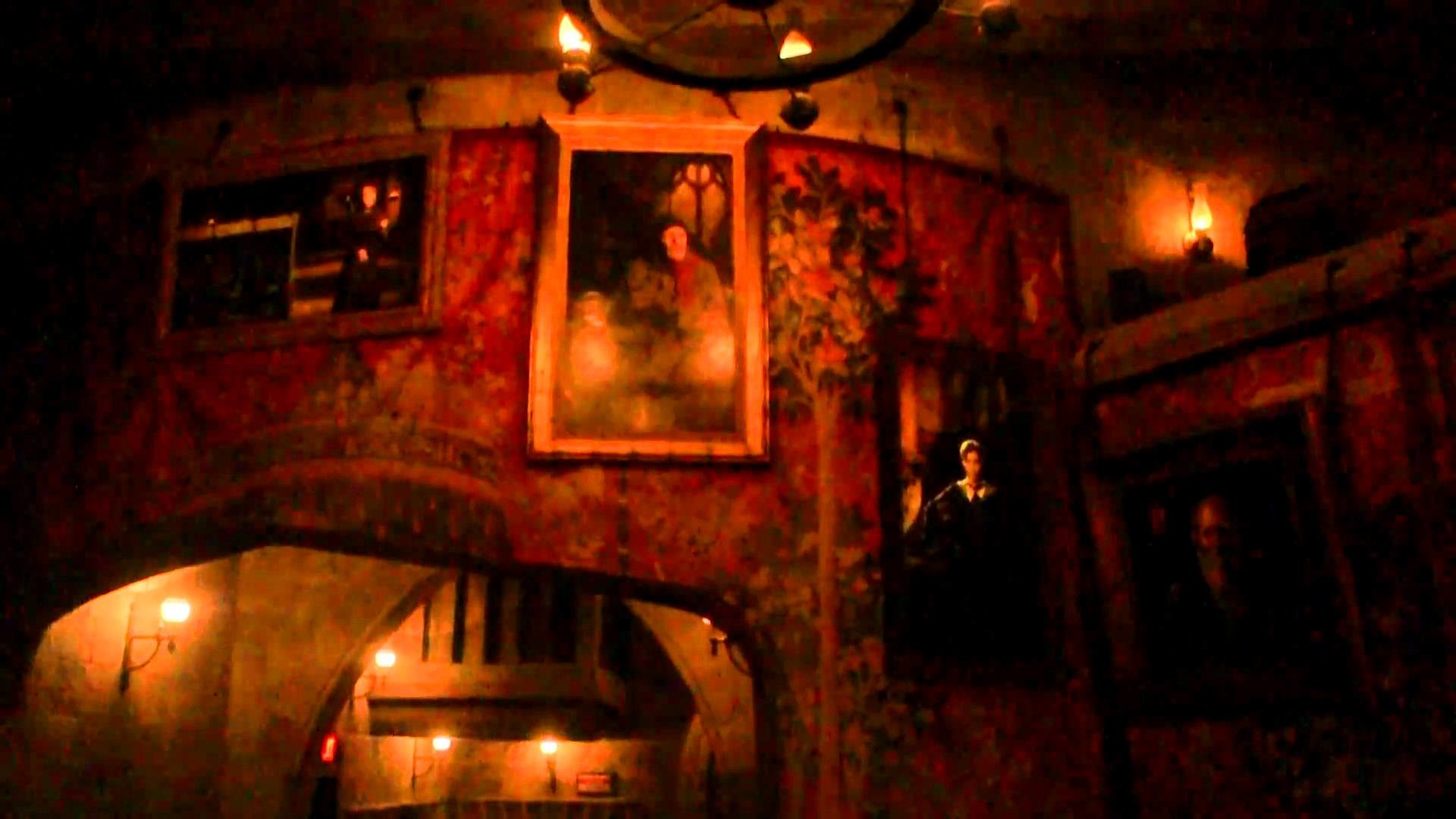 Gryffindor Common Room: Harry Potter and the Forbidden Journey HD 1080p –  YouTube