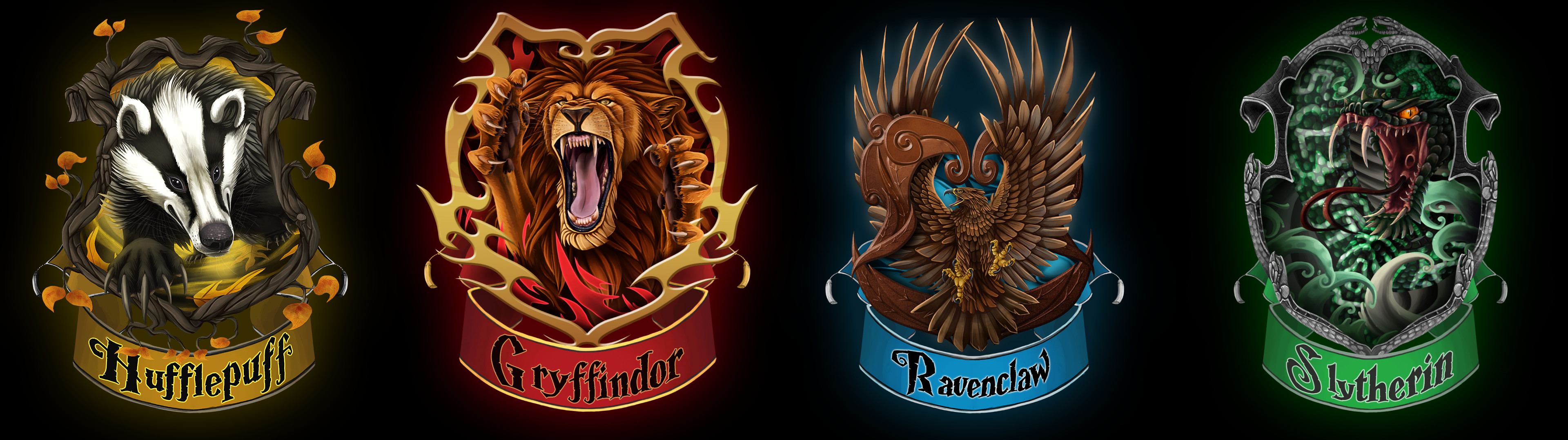 In Which Hogwarts houses your favs are ? – Random – OneHallyu