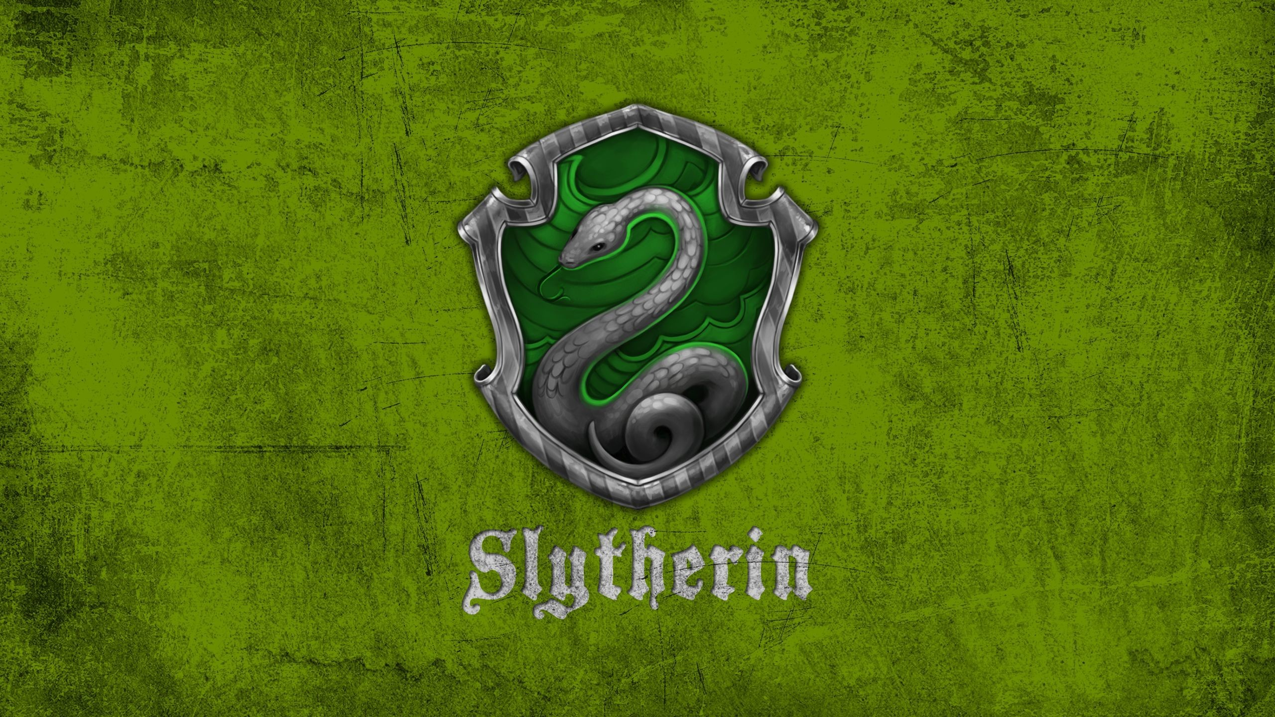"""The Slytherin """"S"""" is striking because of the four, it is the most like one  we already have–the …"""