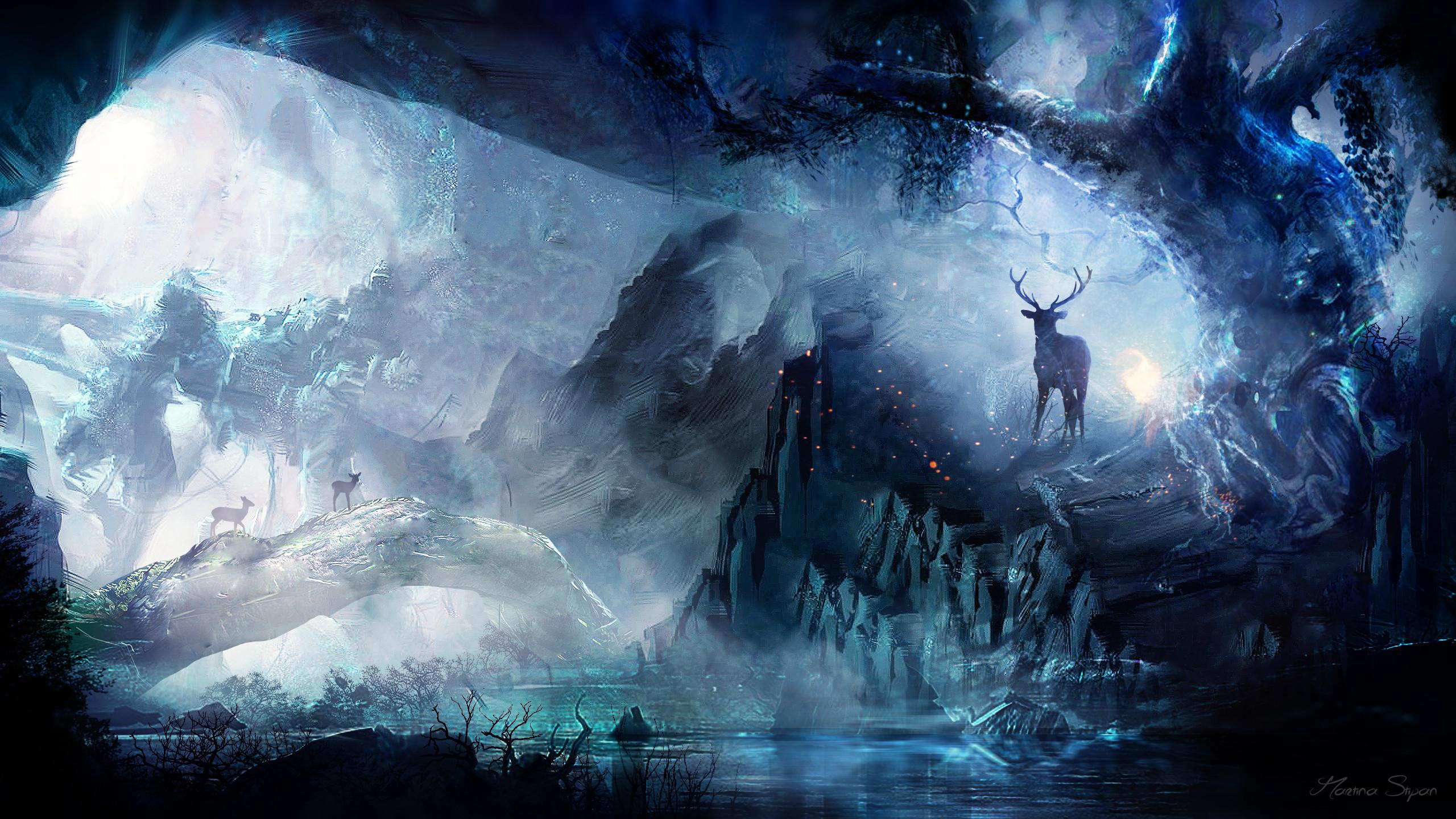 Fantasy Forest Wallpaper