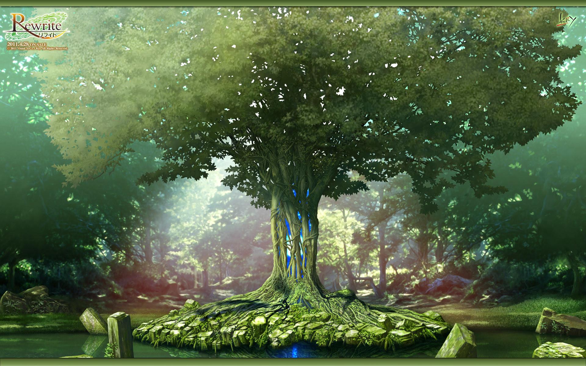 Fantasy – Forest Wallpaper