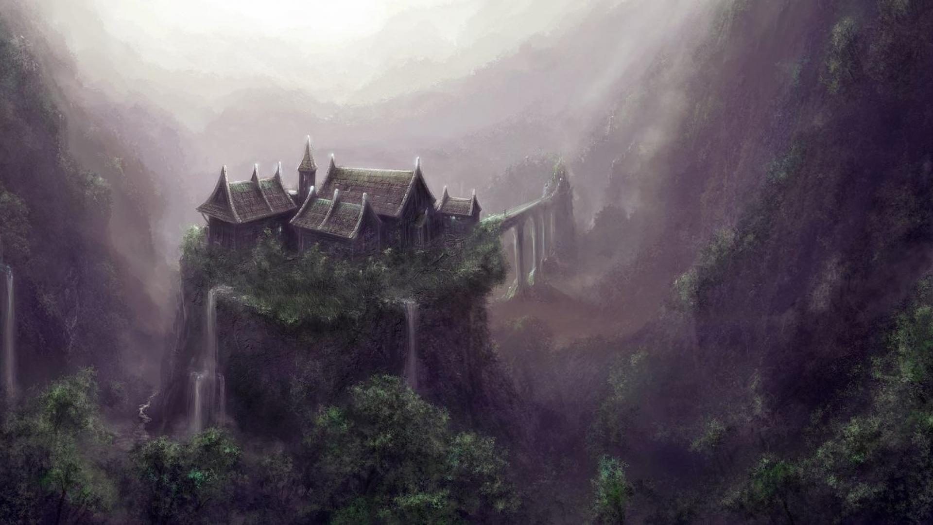 landscapes forest fantasy world kingdom hd wallpaper – (#26362 .