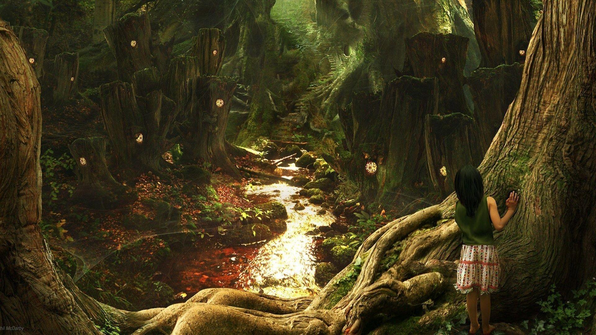 Fantasy Art Scenery by Phil McDarby HD desktop wallpaper : Widescreen : High  Definition : Fullscreen