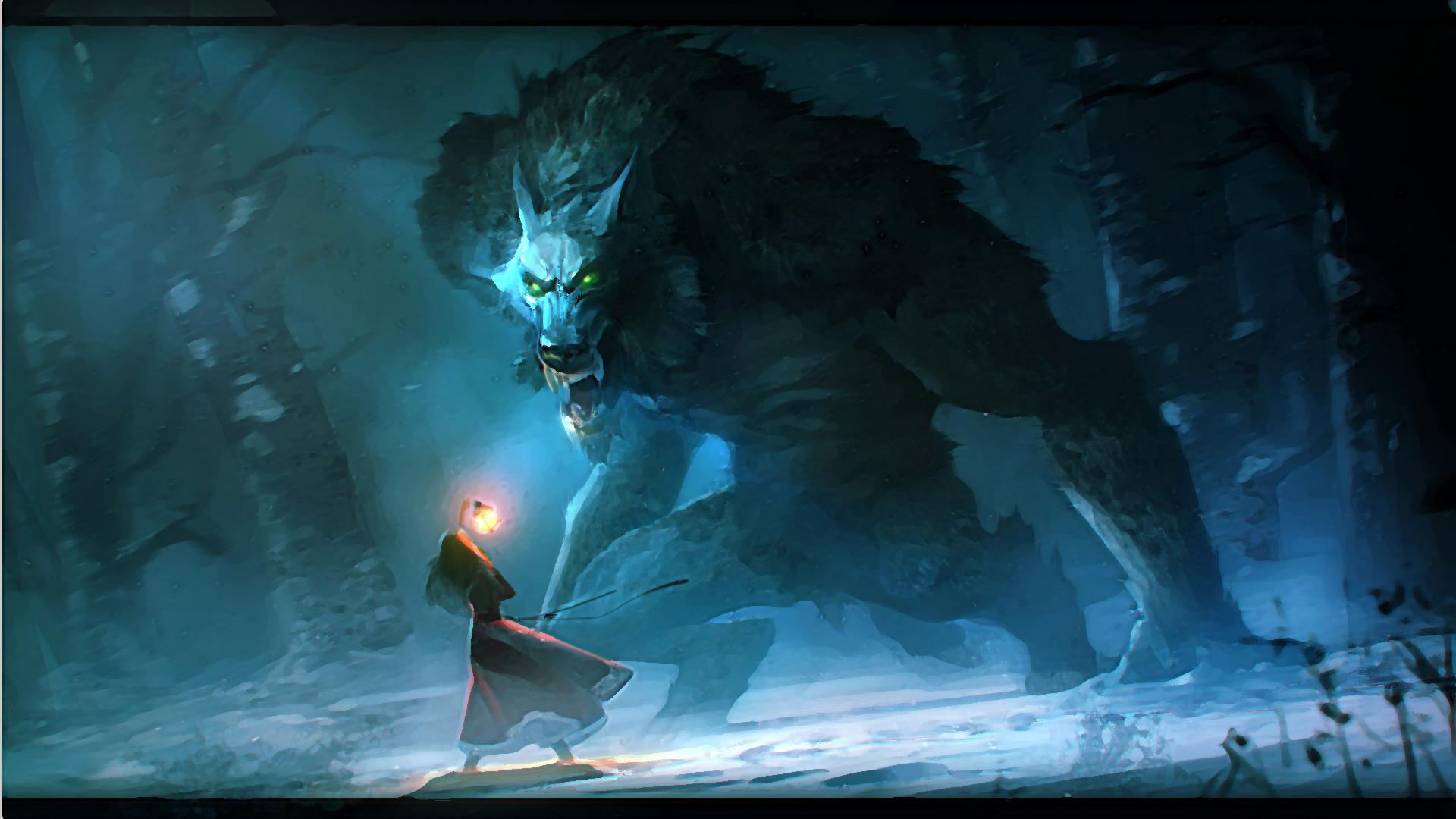 Werewolf Full HD wallpaper by Niconoff deviantart | Full HD Wallpapers .
