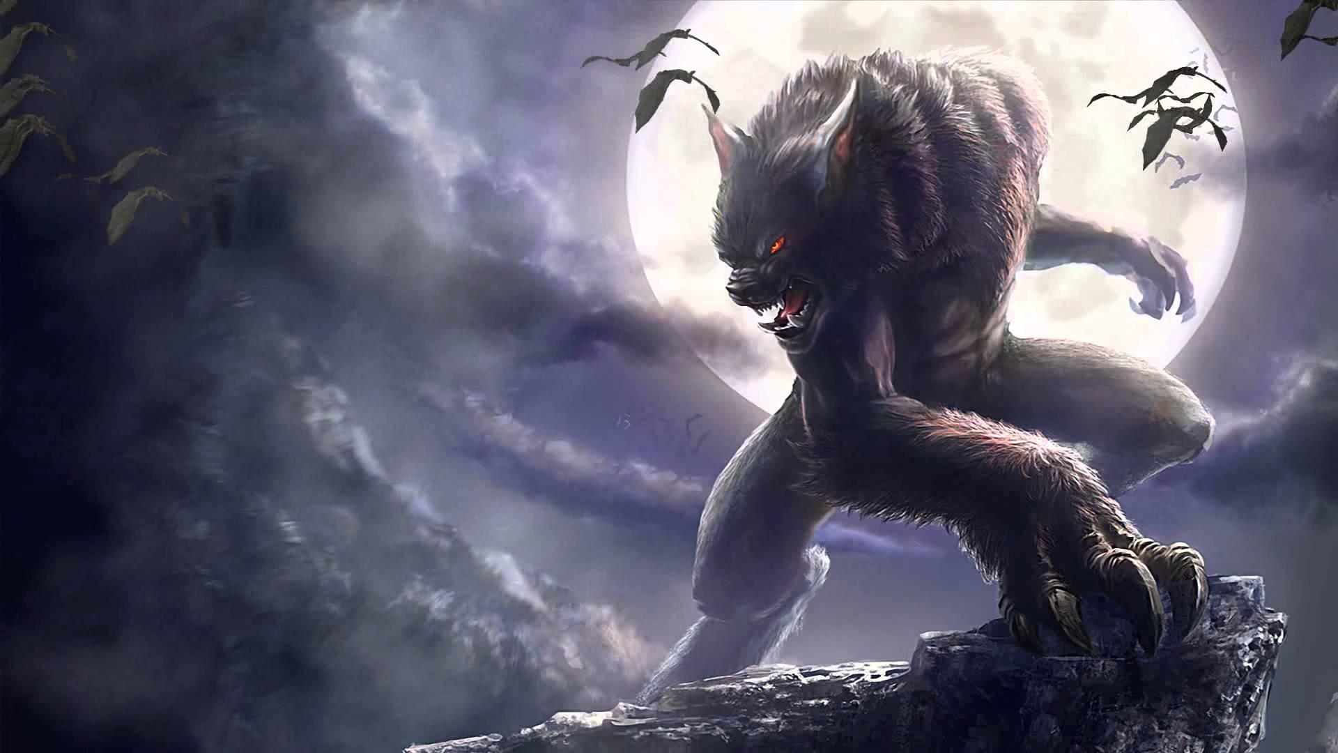 Werewolf Background Wallpaper 15549