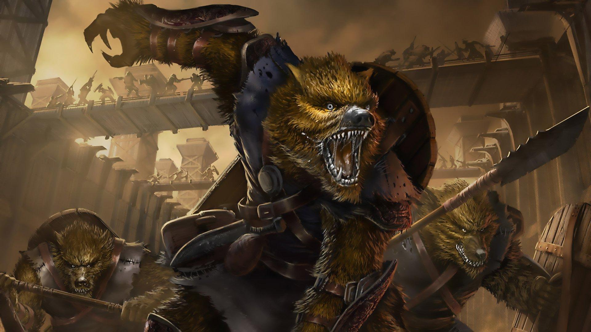 wallpaper.wiki-Download-Free-Werewolf-Wallpaper-PIC-WPD00152