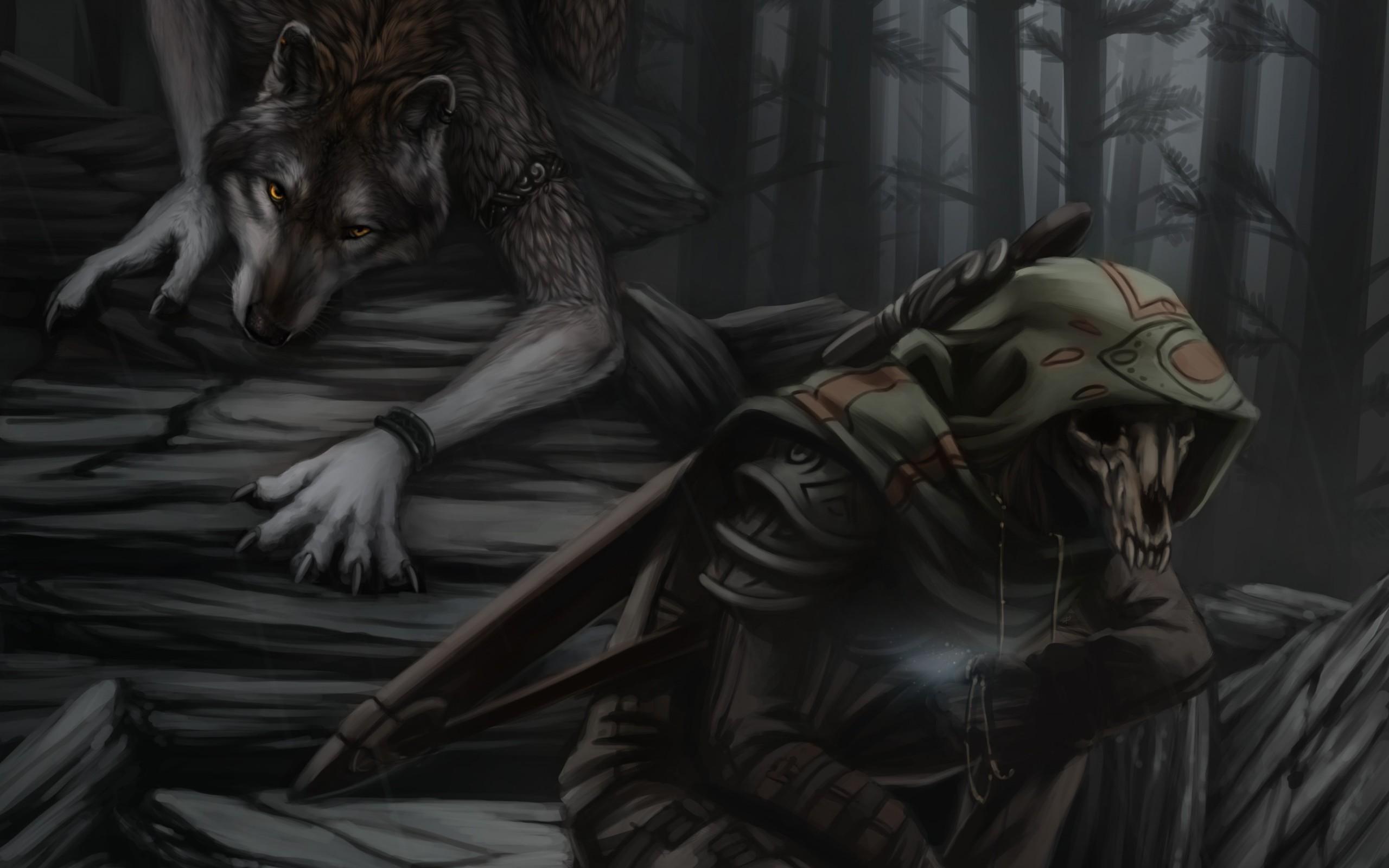 … Werewolf and Grim Reaper