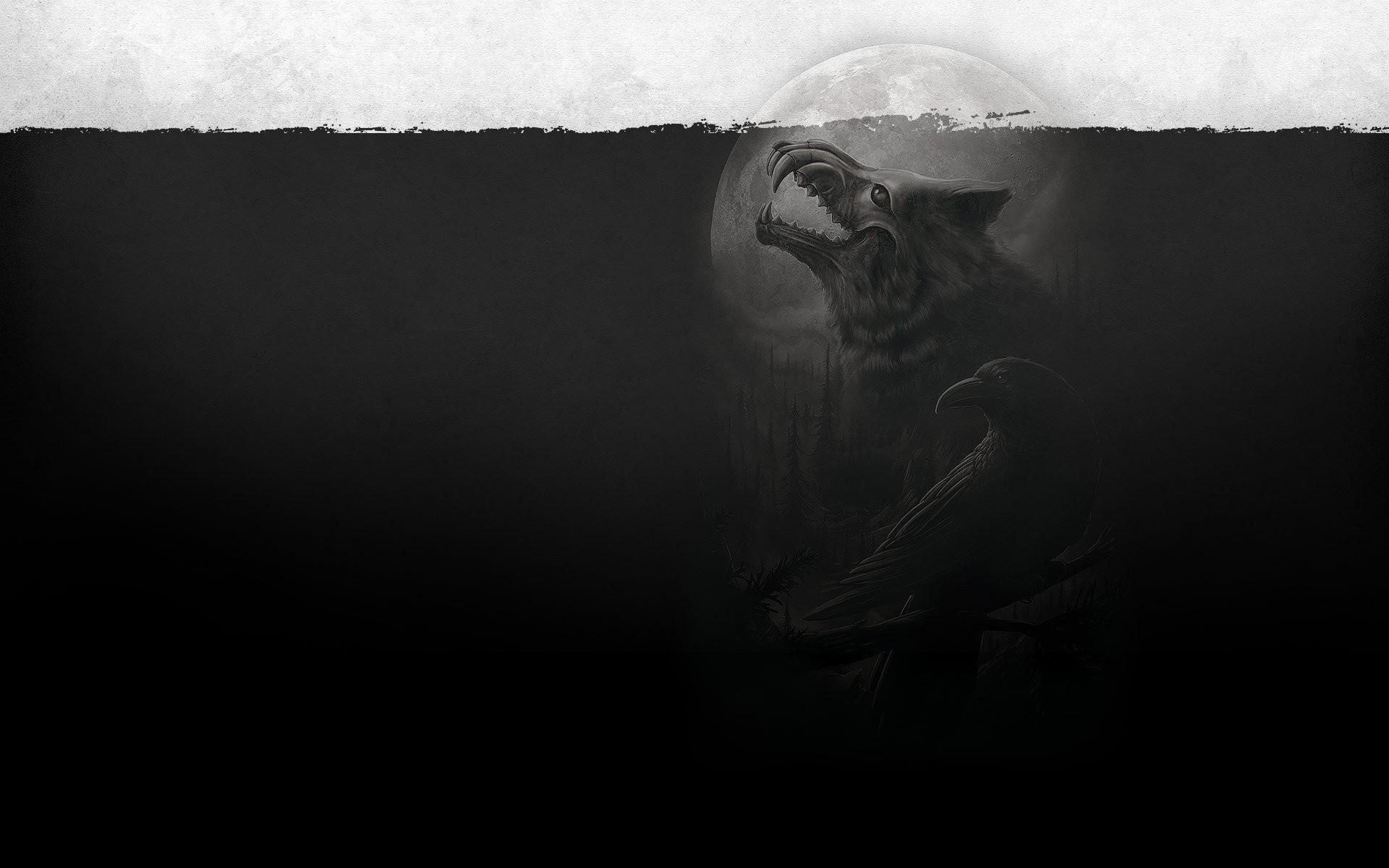 Dark – Werewolf Wallpaper