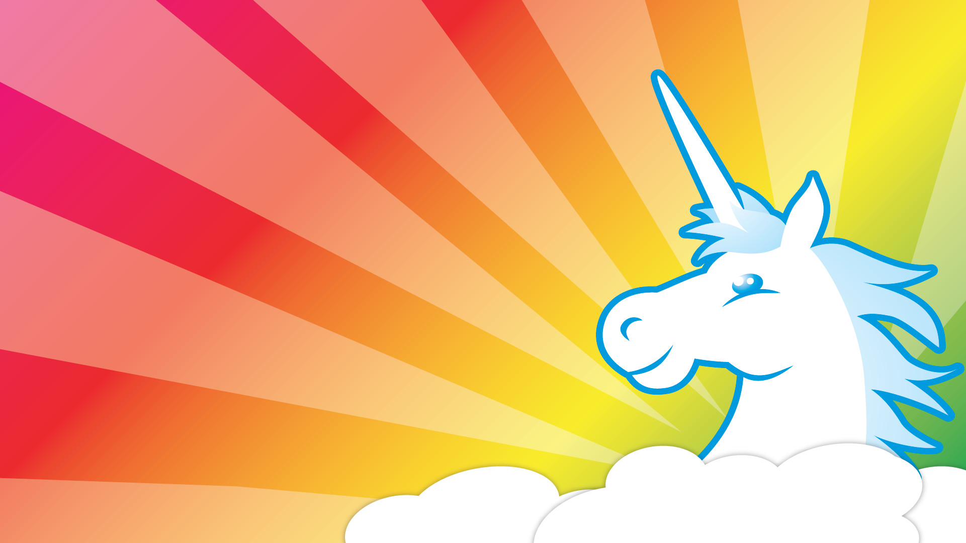 Wallpapers For > Unicorns And Rainbows Wallpaper