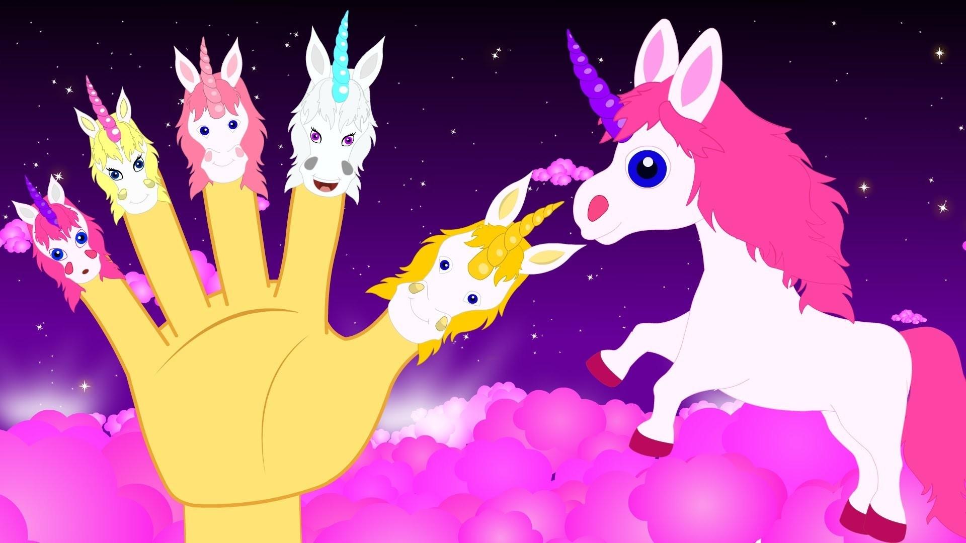 Unicorn Finger Family in Kannada and more Popular Animated Nursery Songs –  Kannada Kids Rhymes