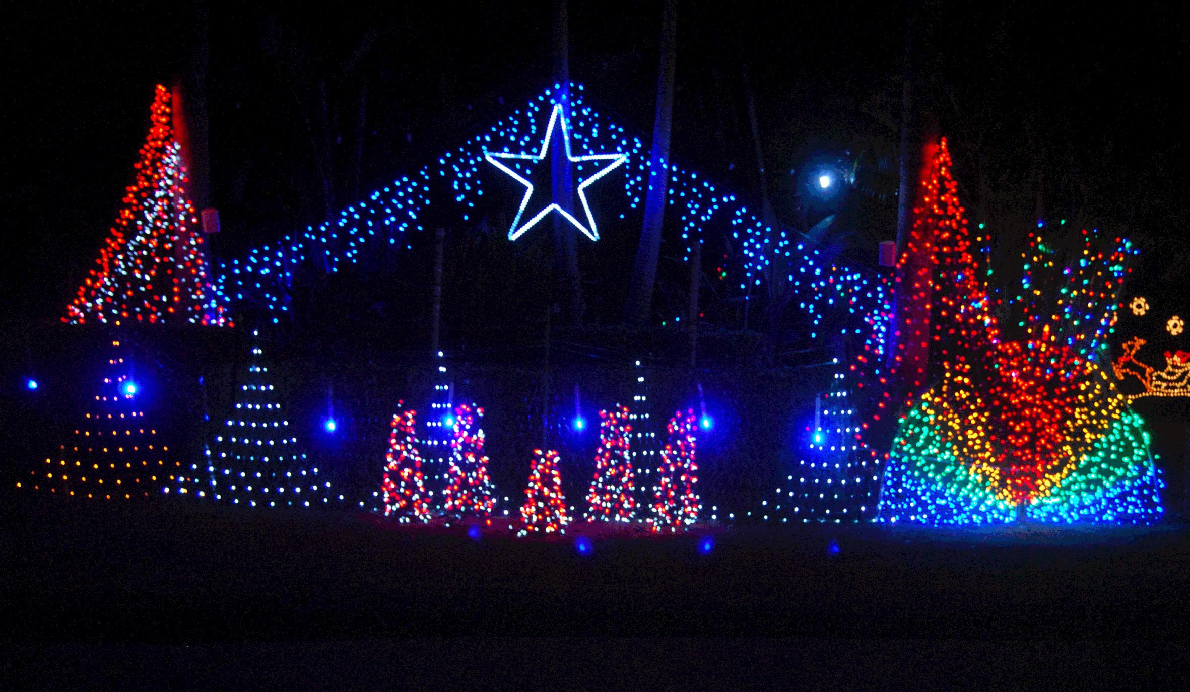 … Animated Christmas Lights Wallpaper …