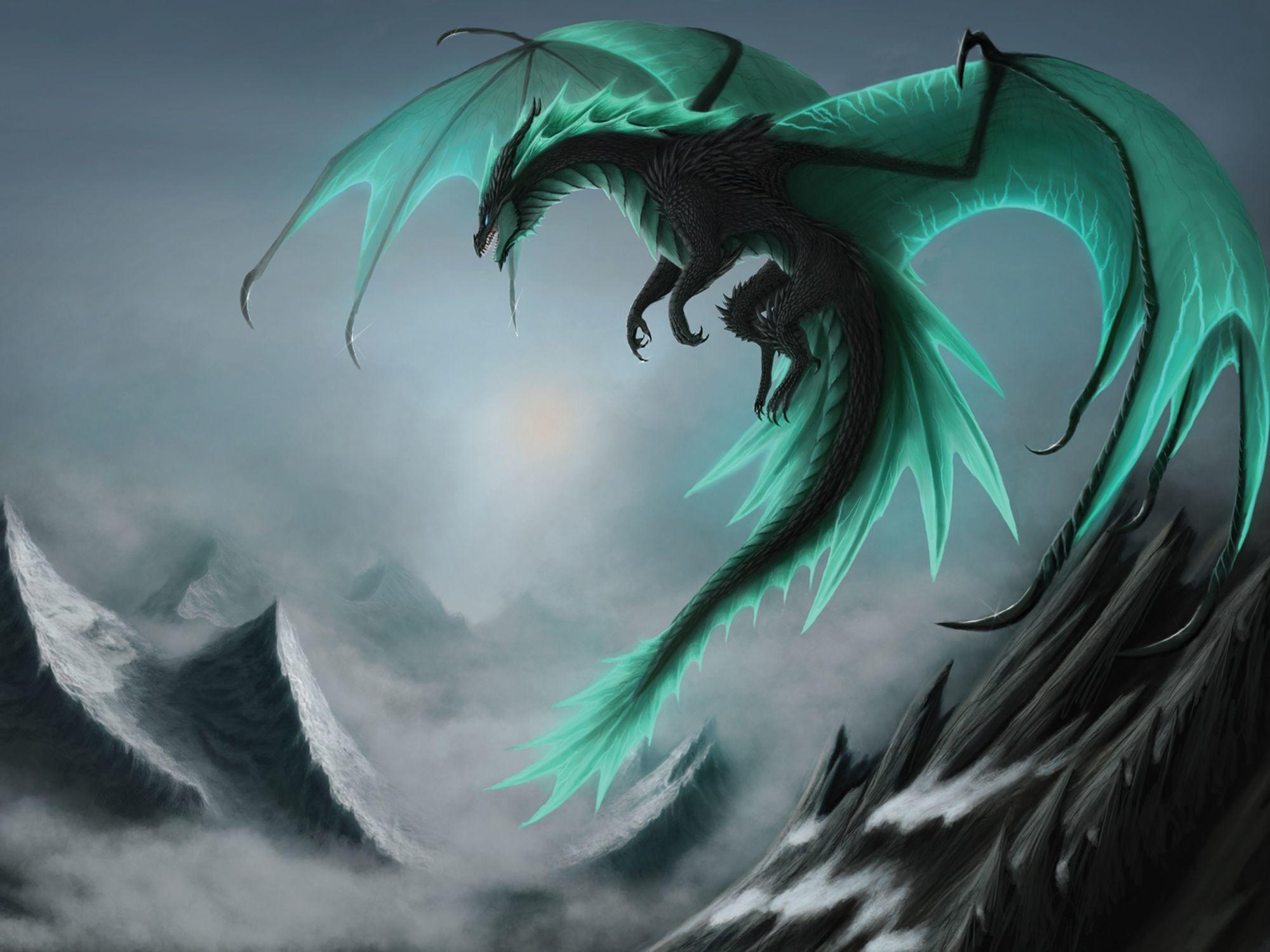 Dragons Wings Fantasy Dragon Wallpaper