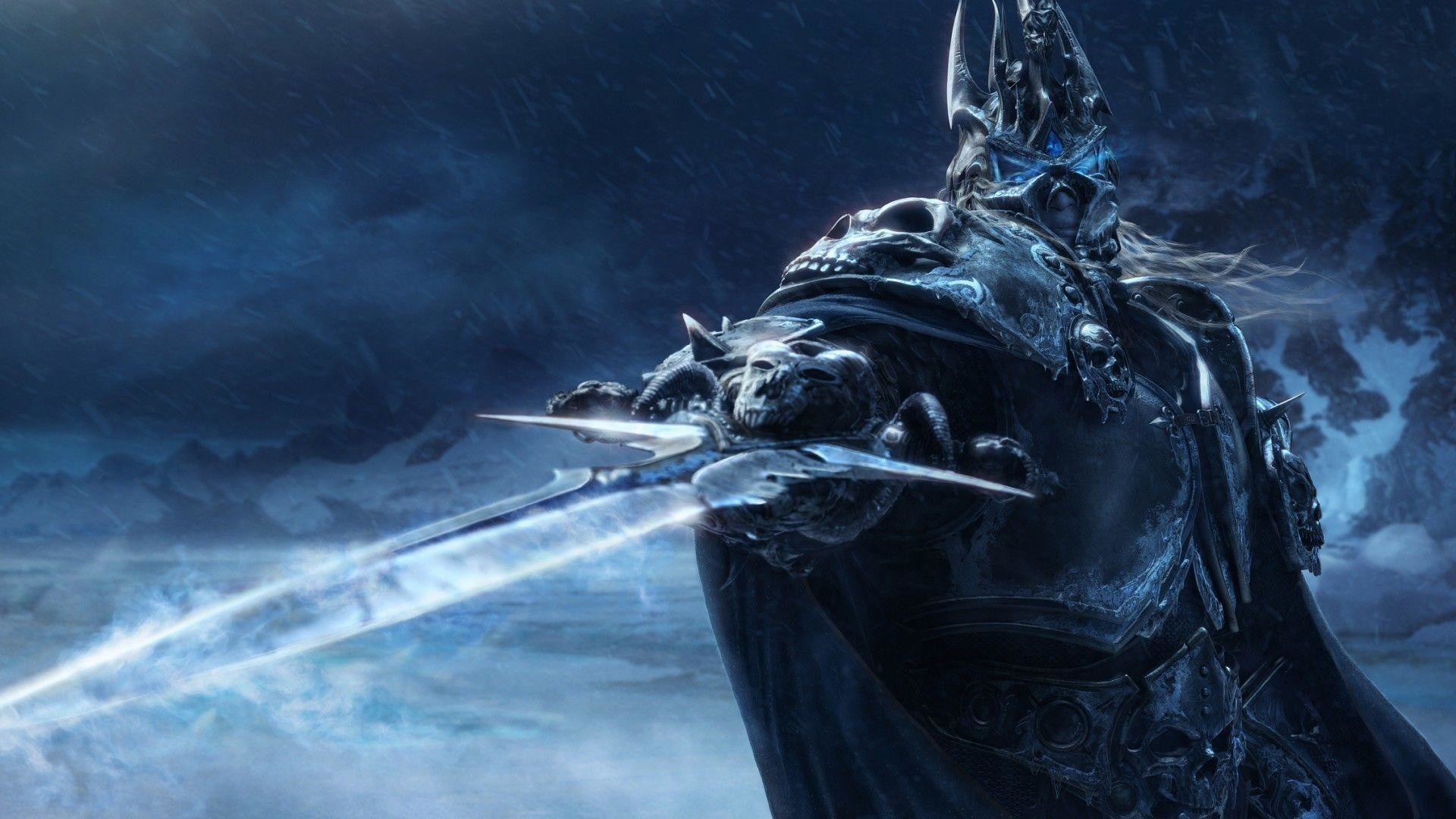 Wow Lich King Blue Dragon Wallpapers