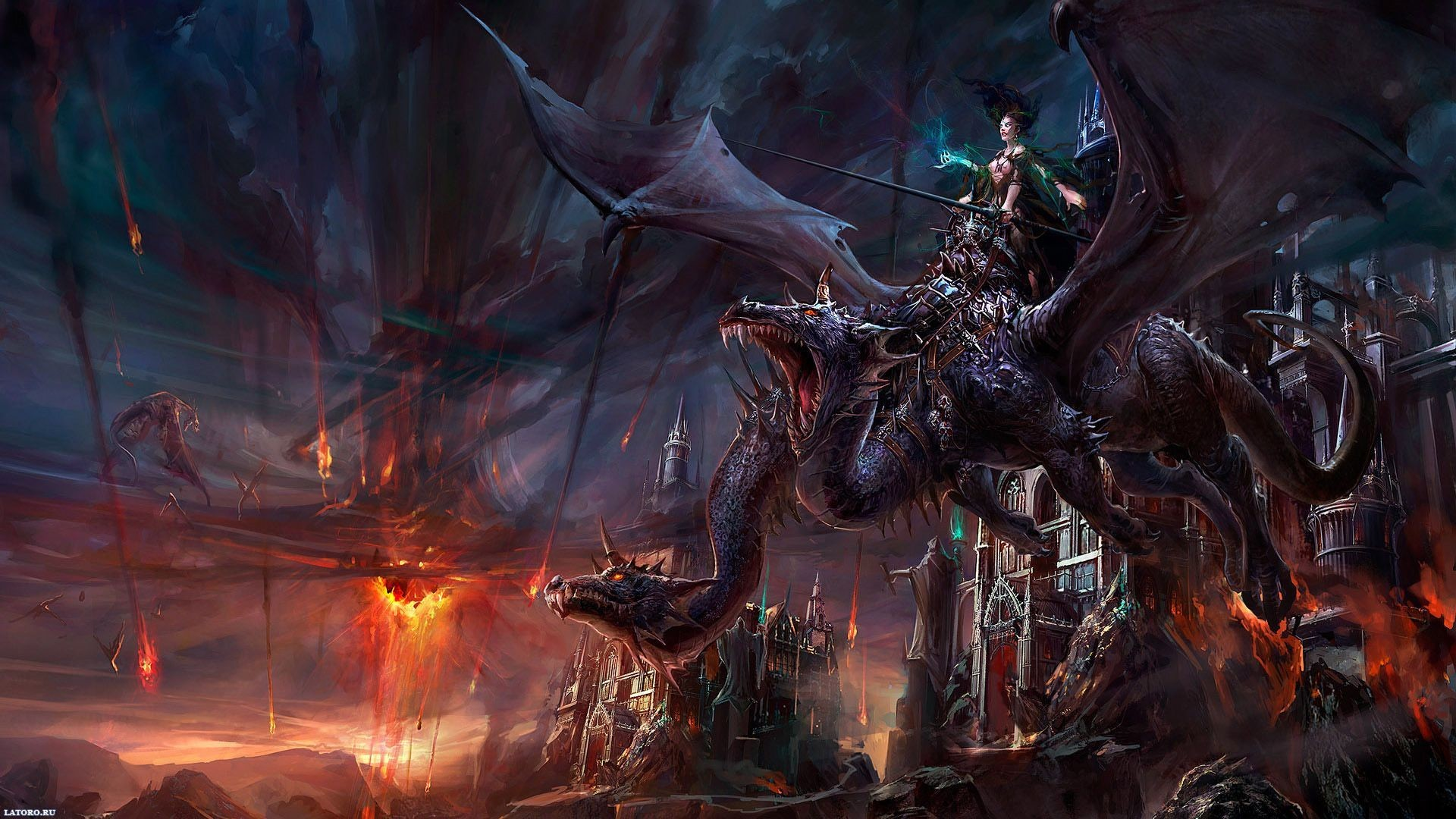 Gallery for – free dragon wallpapers for desktop