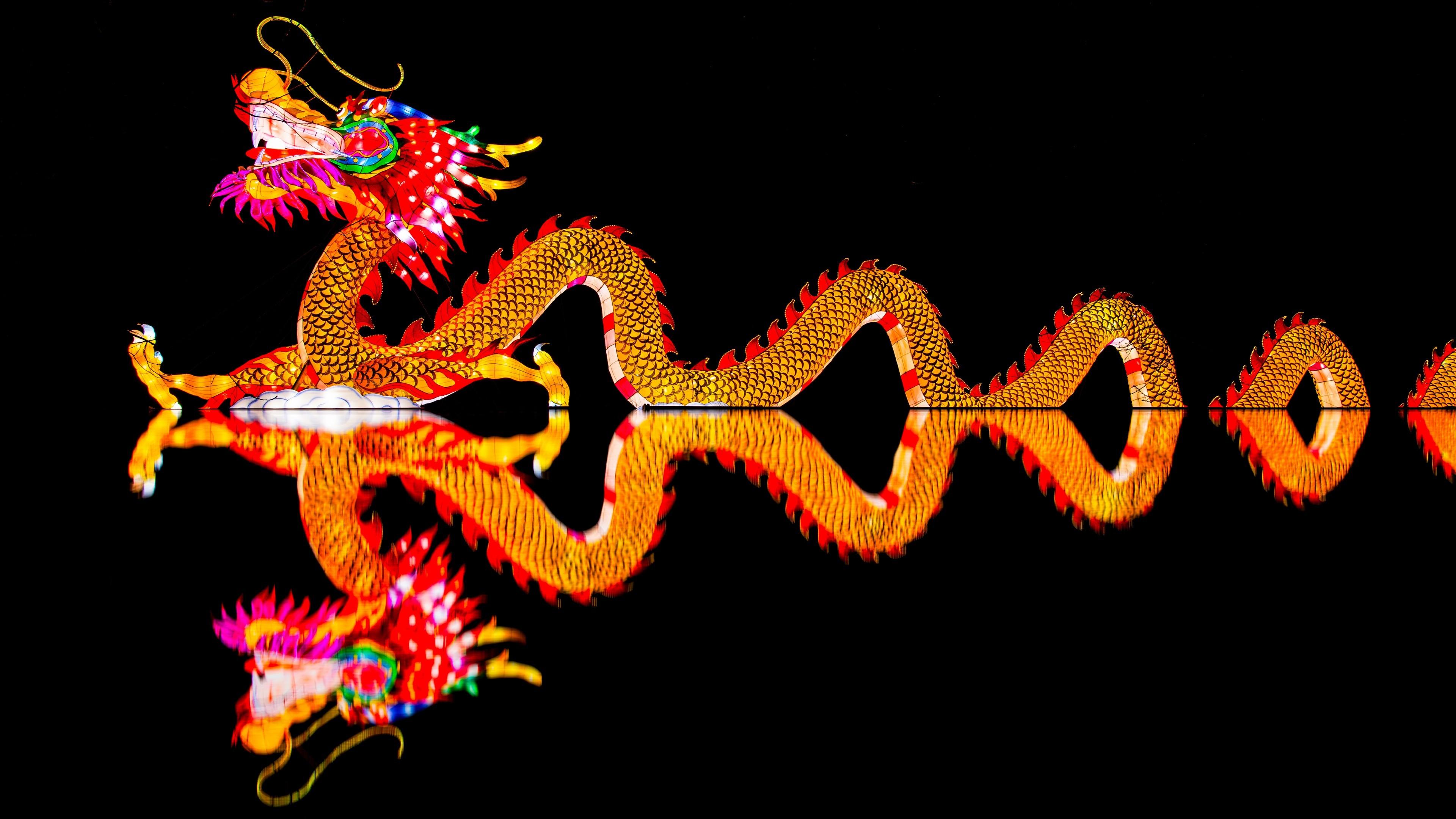 China Dragon Throne   Wallpaper China Lights, Chinese Dragon, 4K, 5K,  Photography