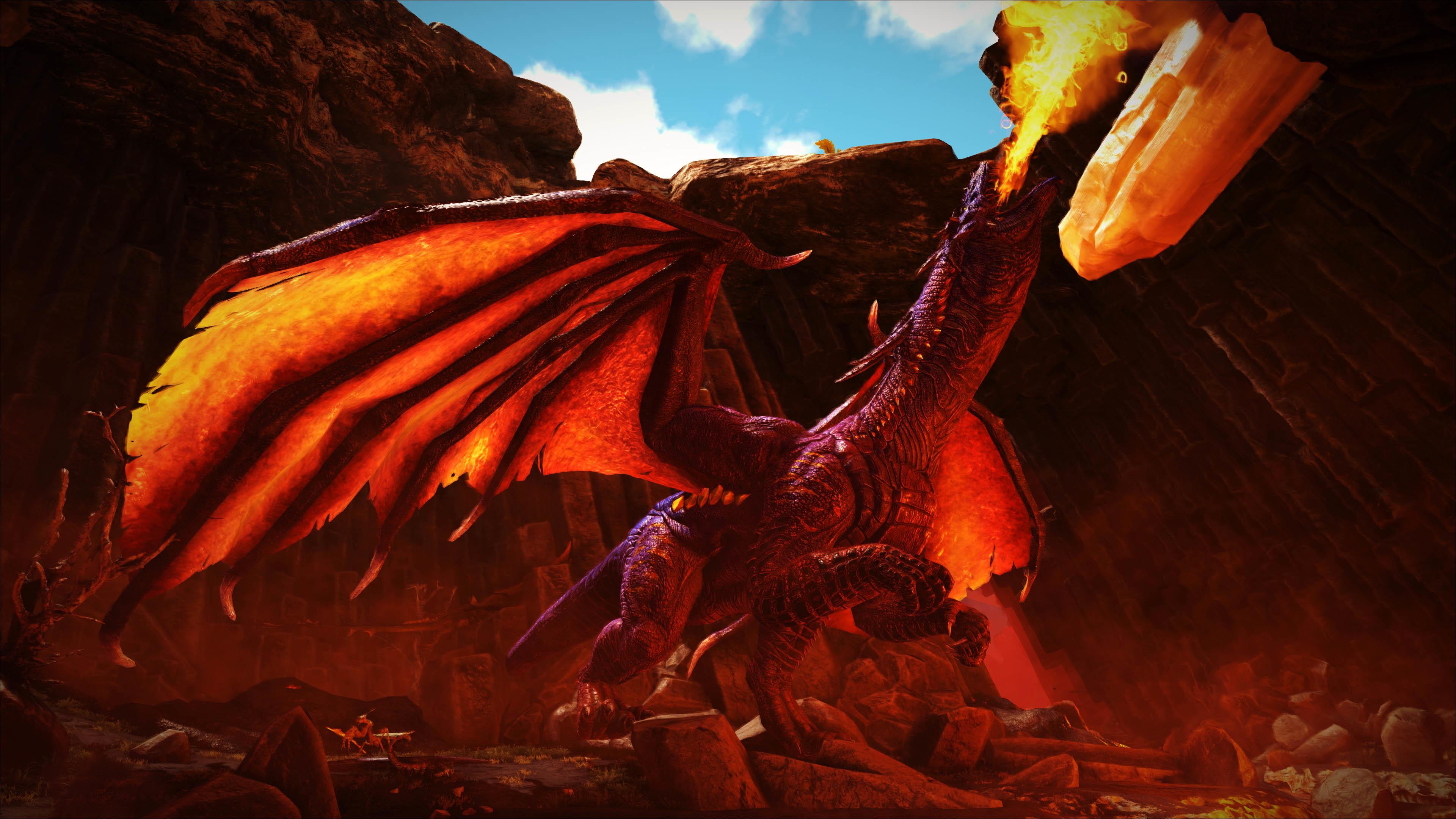Dragon Boss – ARK: Survival Evolved wallpaper