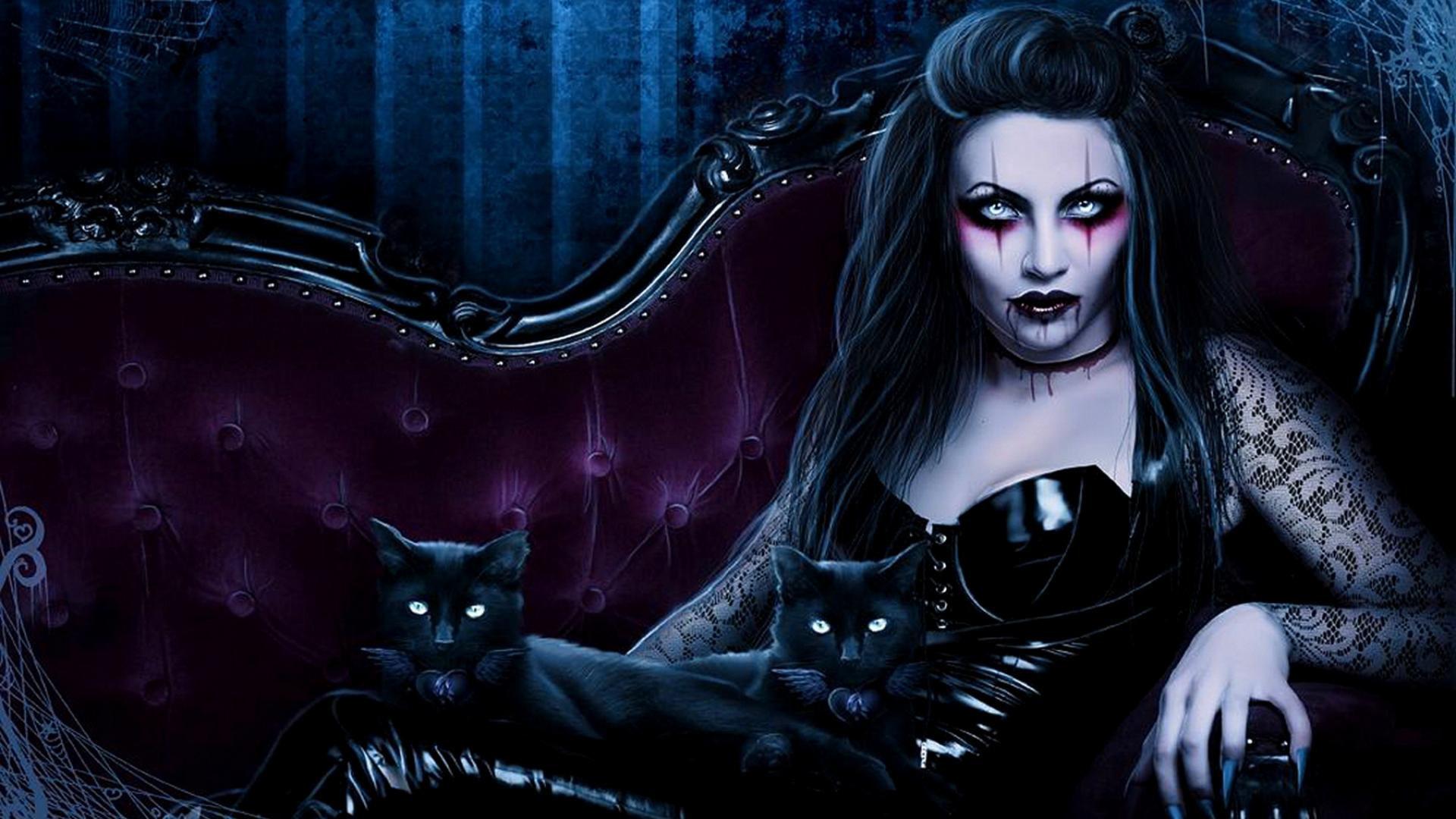 … gothic vampire wallpaper wallpapersafari …