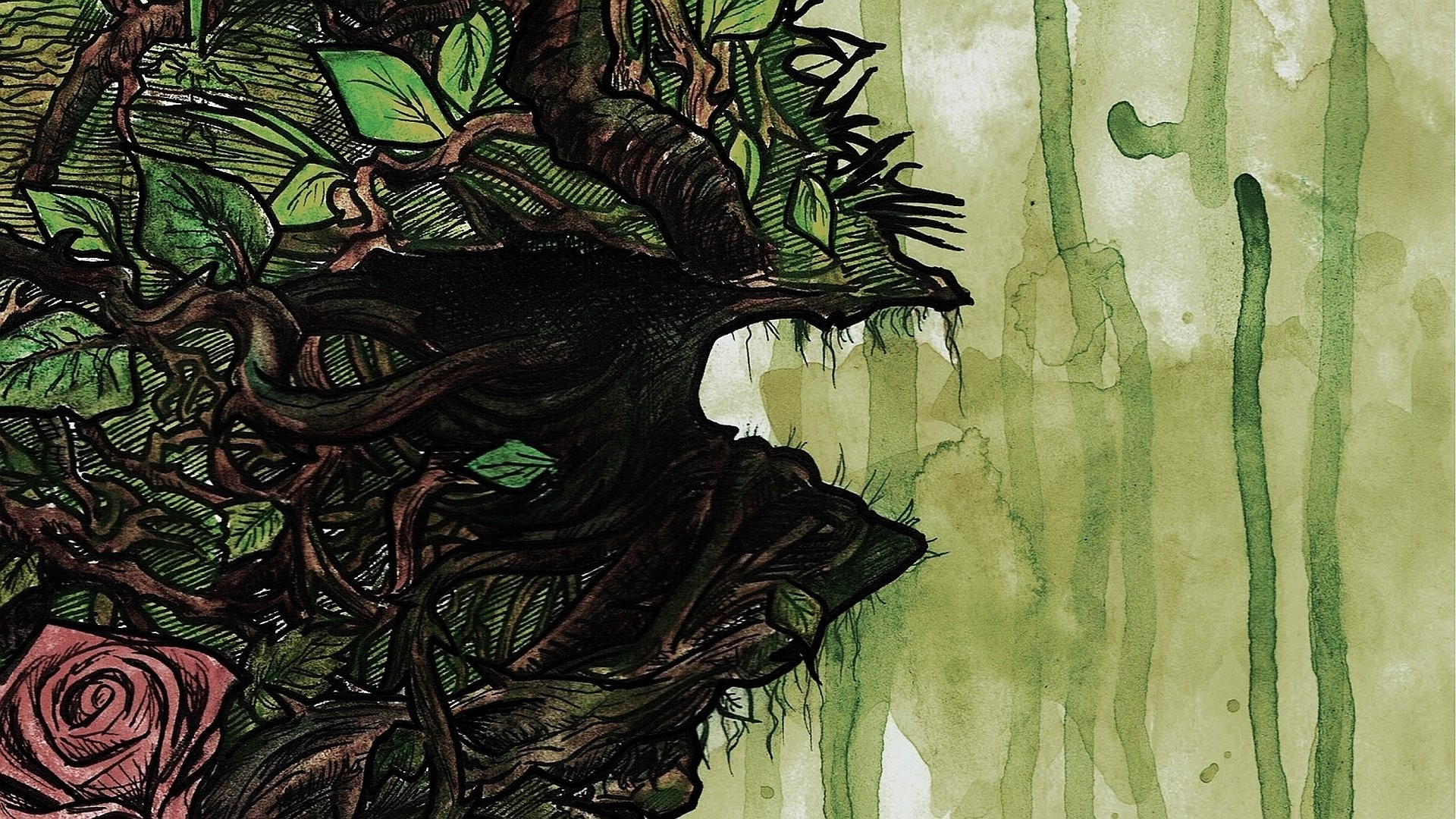 Swamp Thing · HD Wallpaper   Background ID:470529