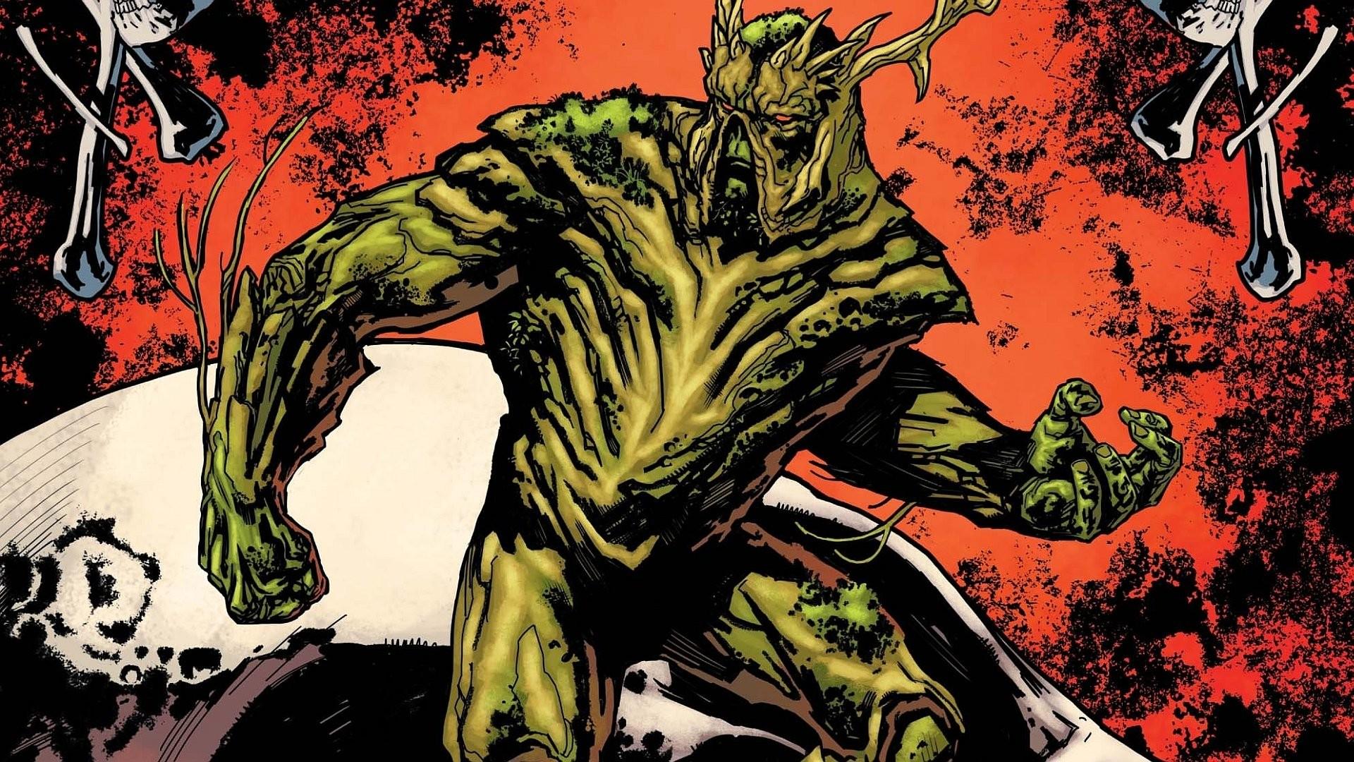 HD Wallpaper   Background ID:517384. Comics Swamp Thing
