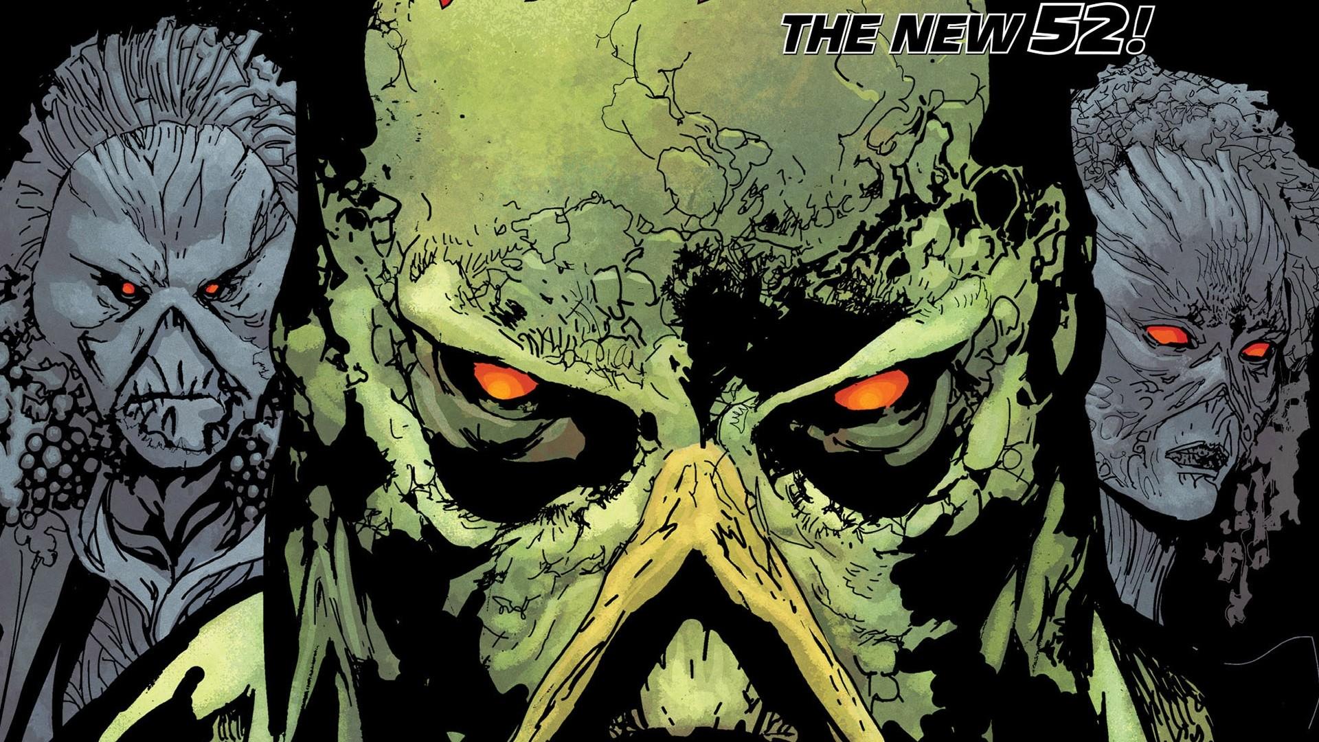 Comics – Swamp Thing Wallpaper