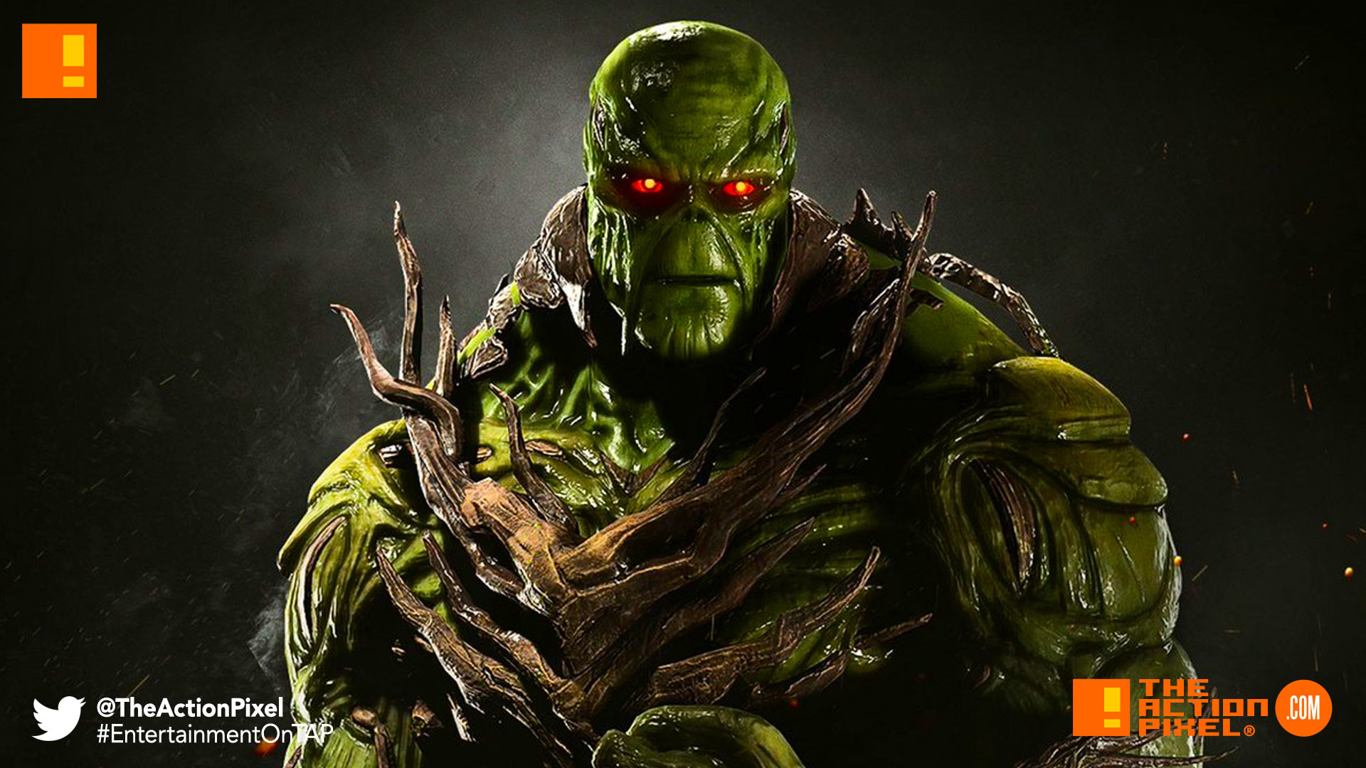 swamp thing, injustice 2, dc comics, wb games, warner bros.,
