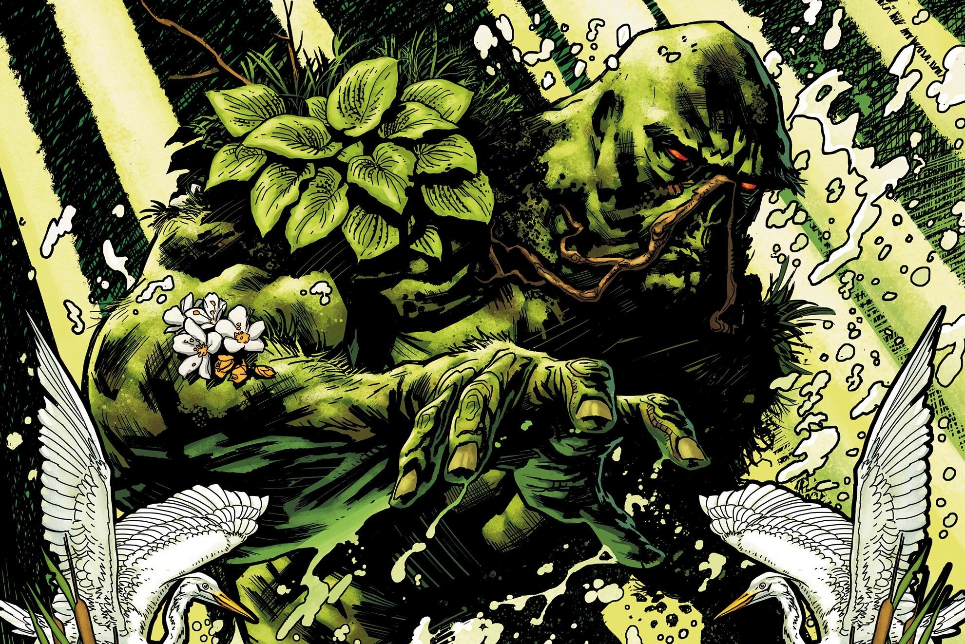 1980x1322px swamp thing wallpaper for mac computers by Webber Mason