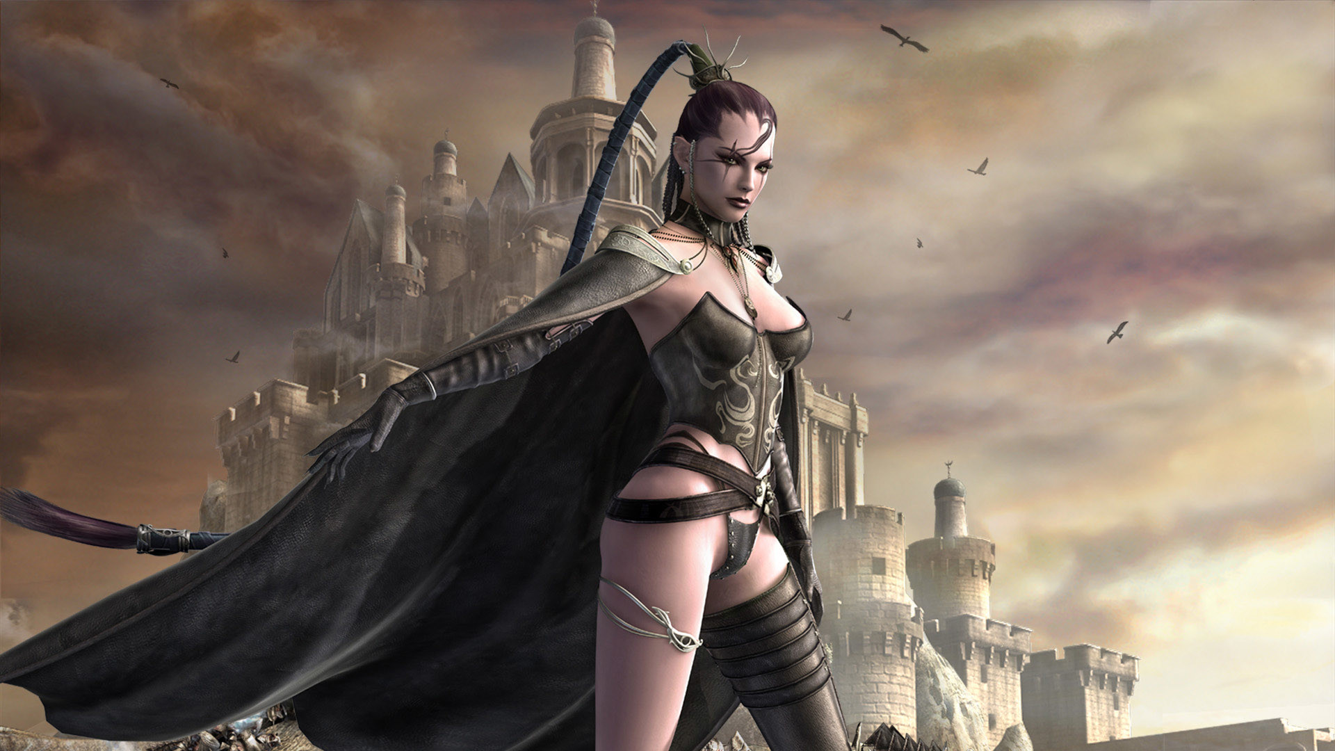 Fantasy – Women Warrior Wallpapers and Backgrounds
