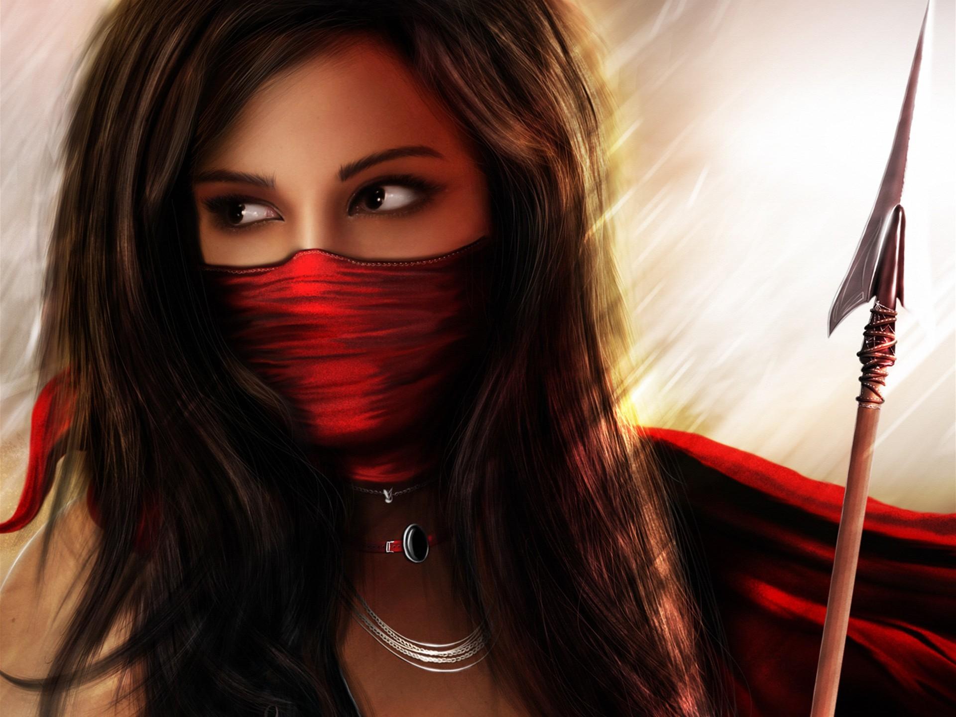 wall papers, female | Female Warrior Desktop Wallpaper. Fantasy …