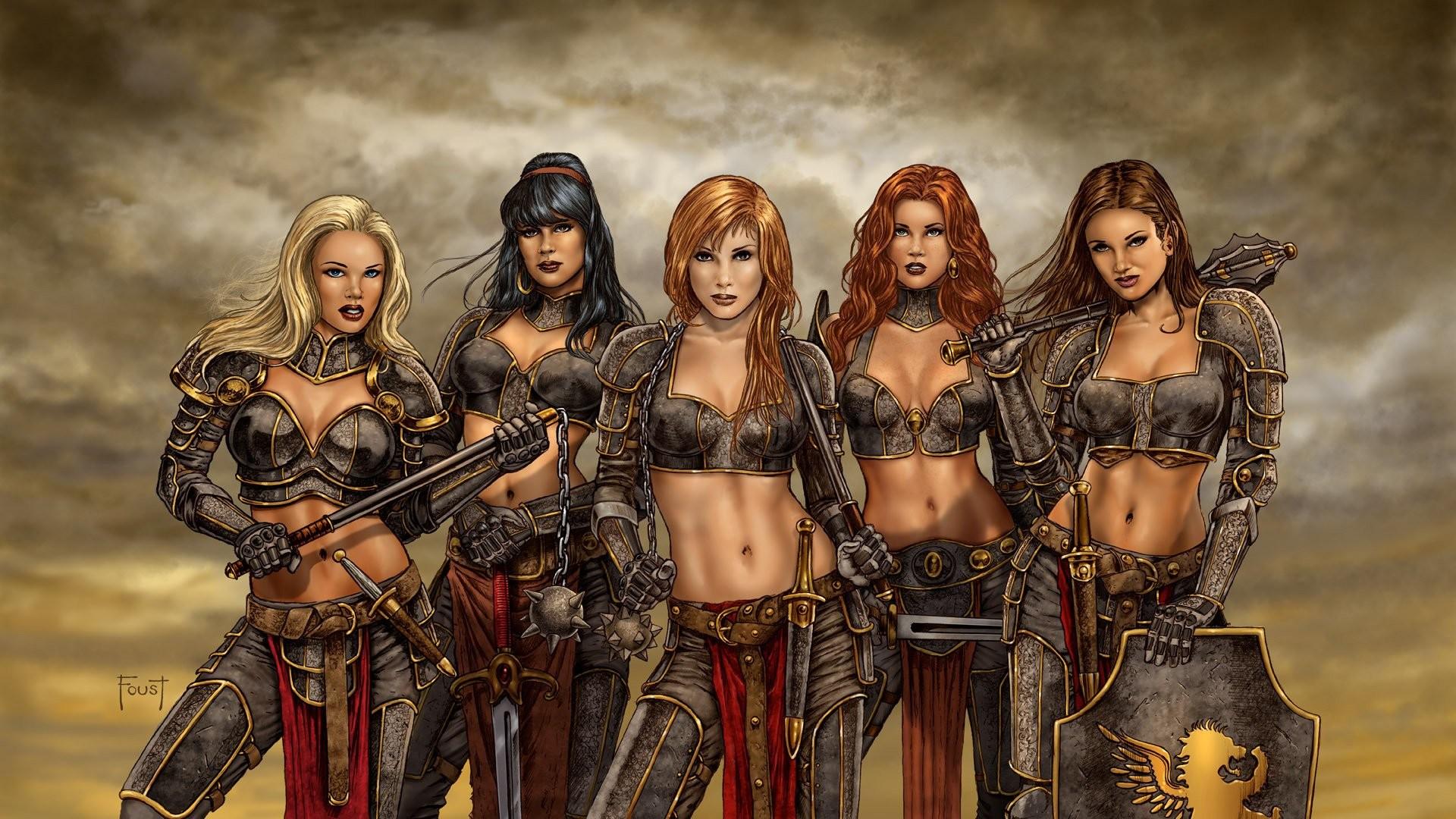 HD Wallpaper | Background ID:245346. Fantasy Women Warrior