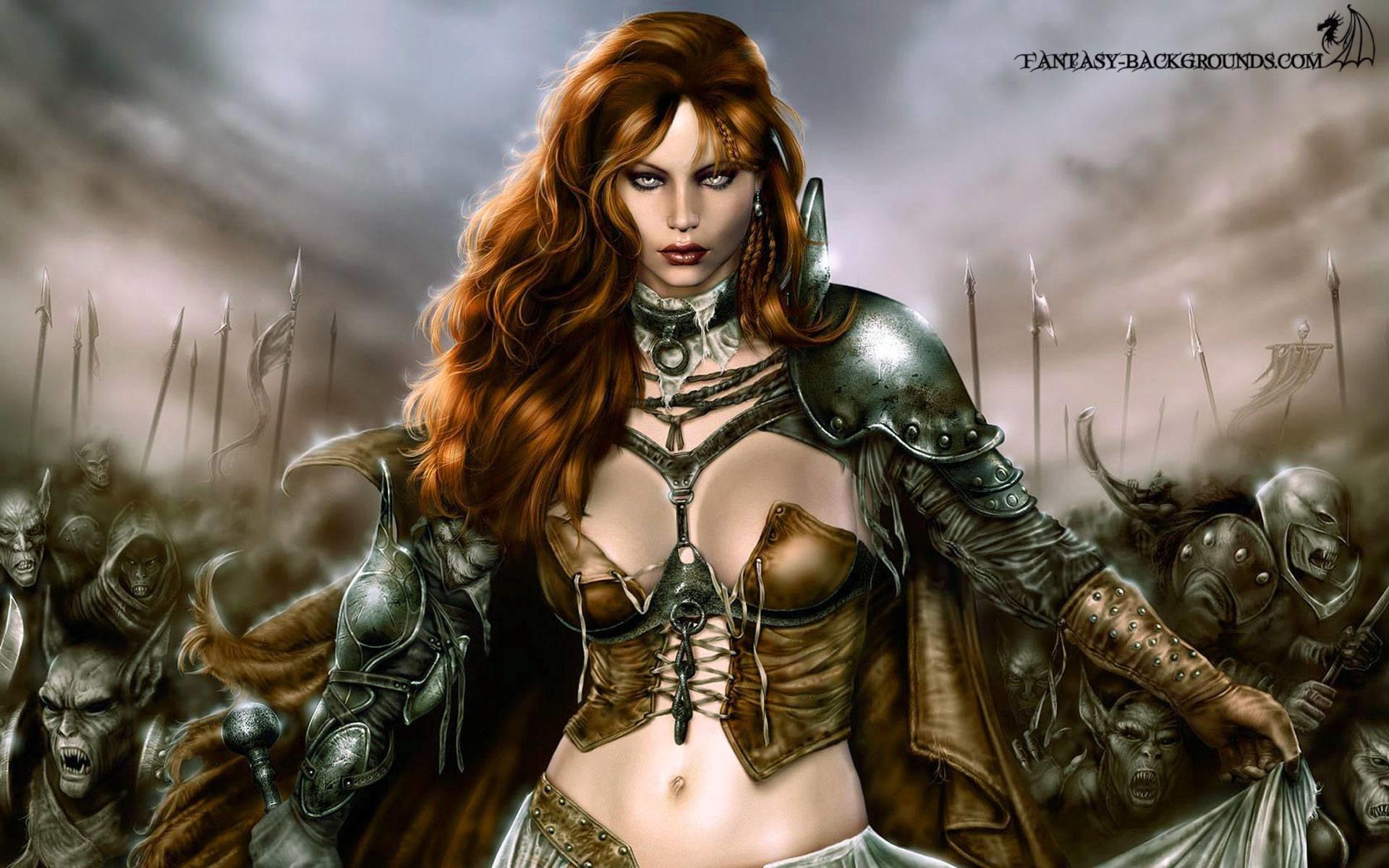 Women Warrior Full HD Wallpaper and Background x ID
